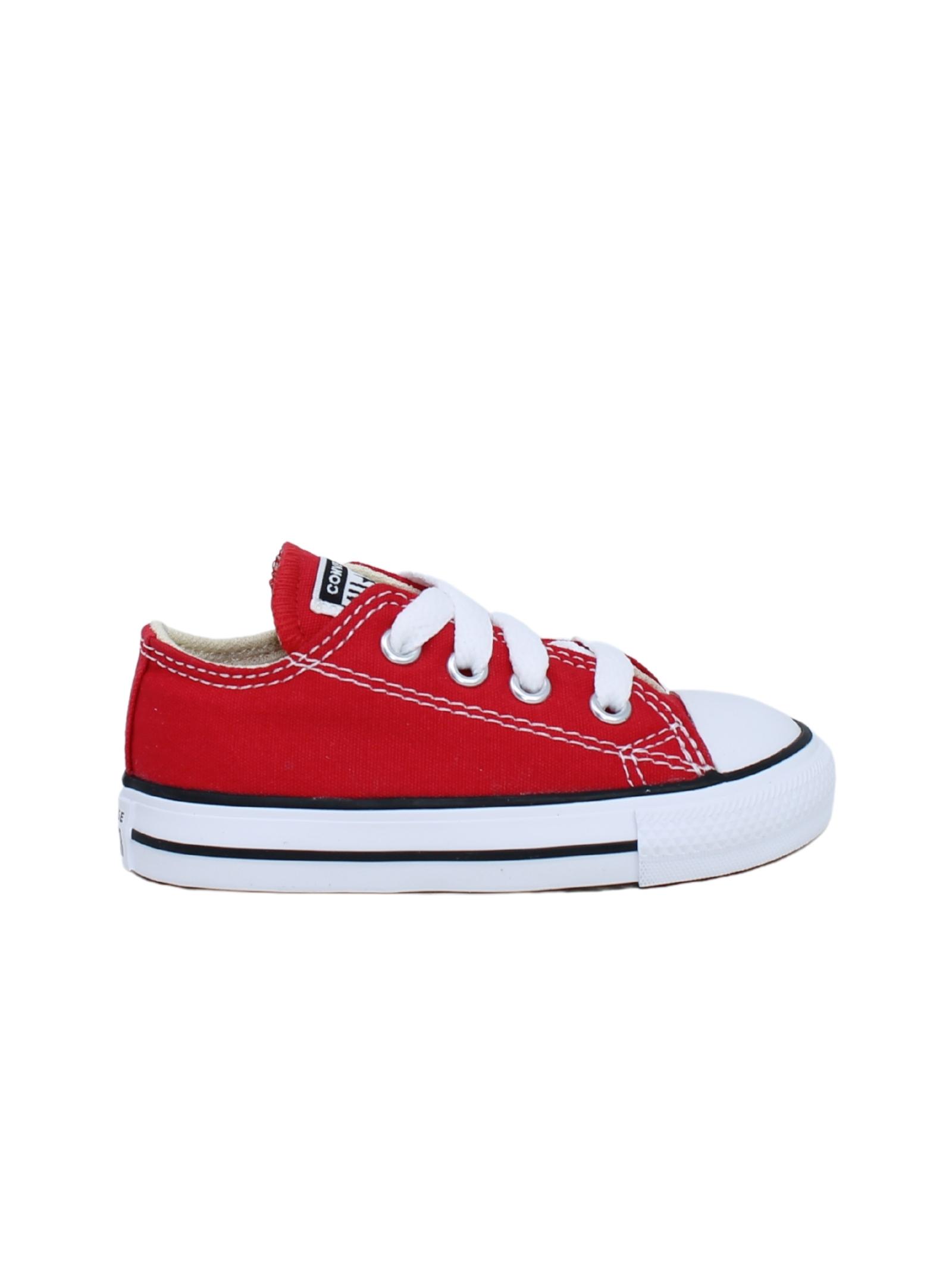 Converse Bambina Red CONVERSE KIDS | Sneakers | 7J236CROSSA