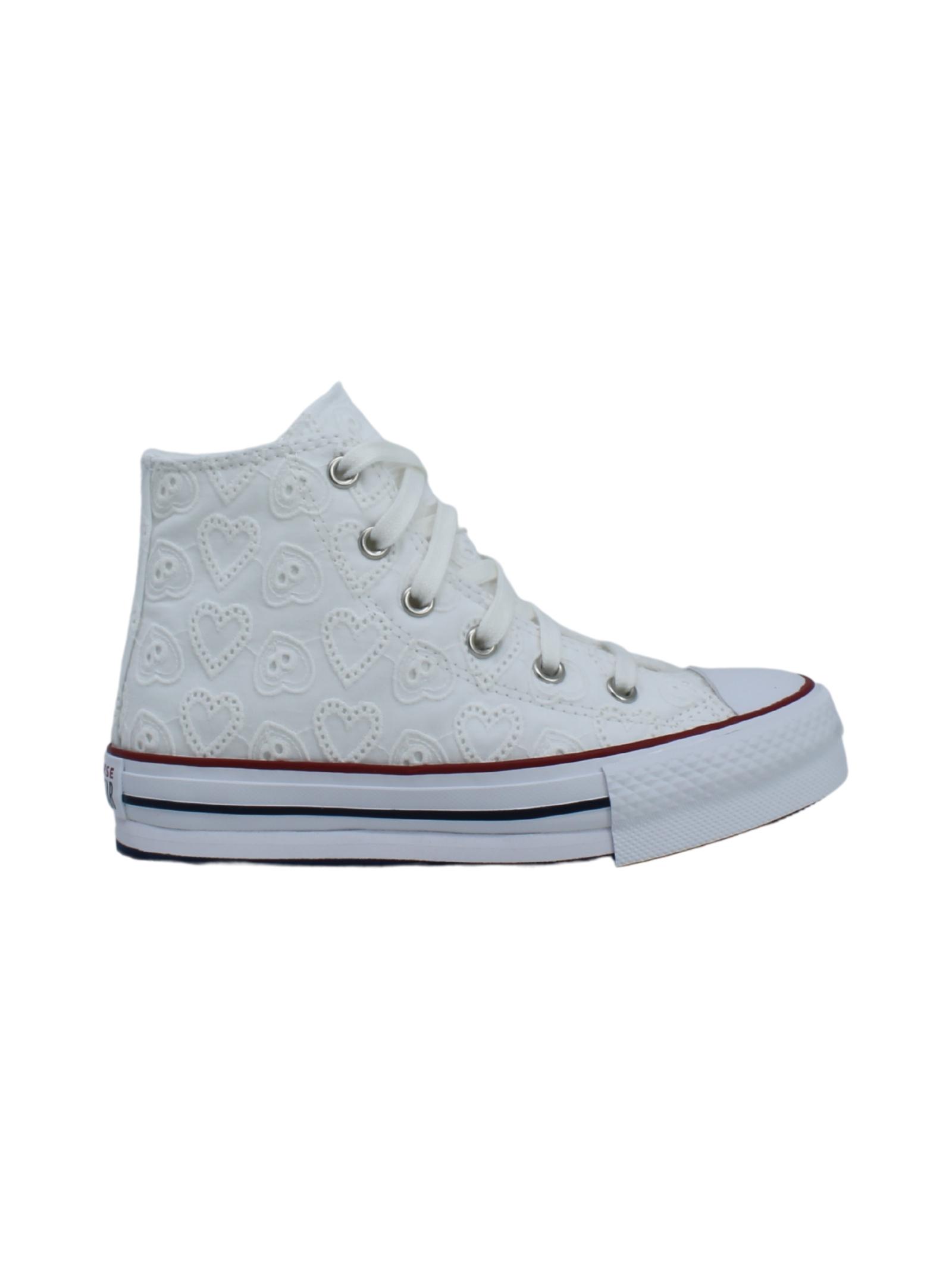 Converse Bambina Ricami CONVERSE KIDS | Sneakers | 671104CBIANCO