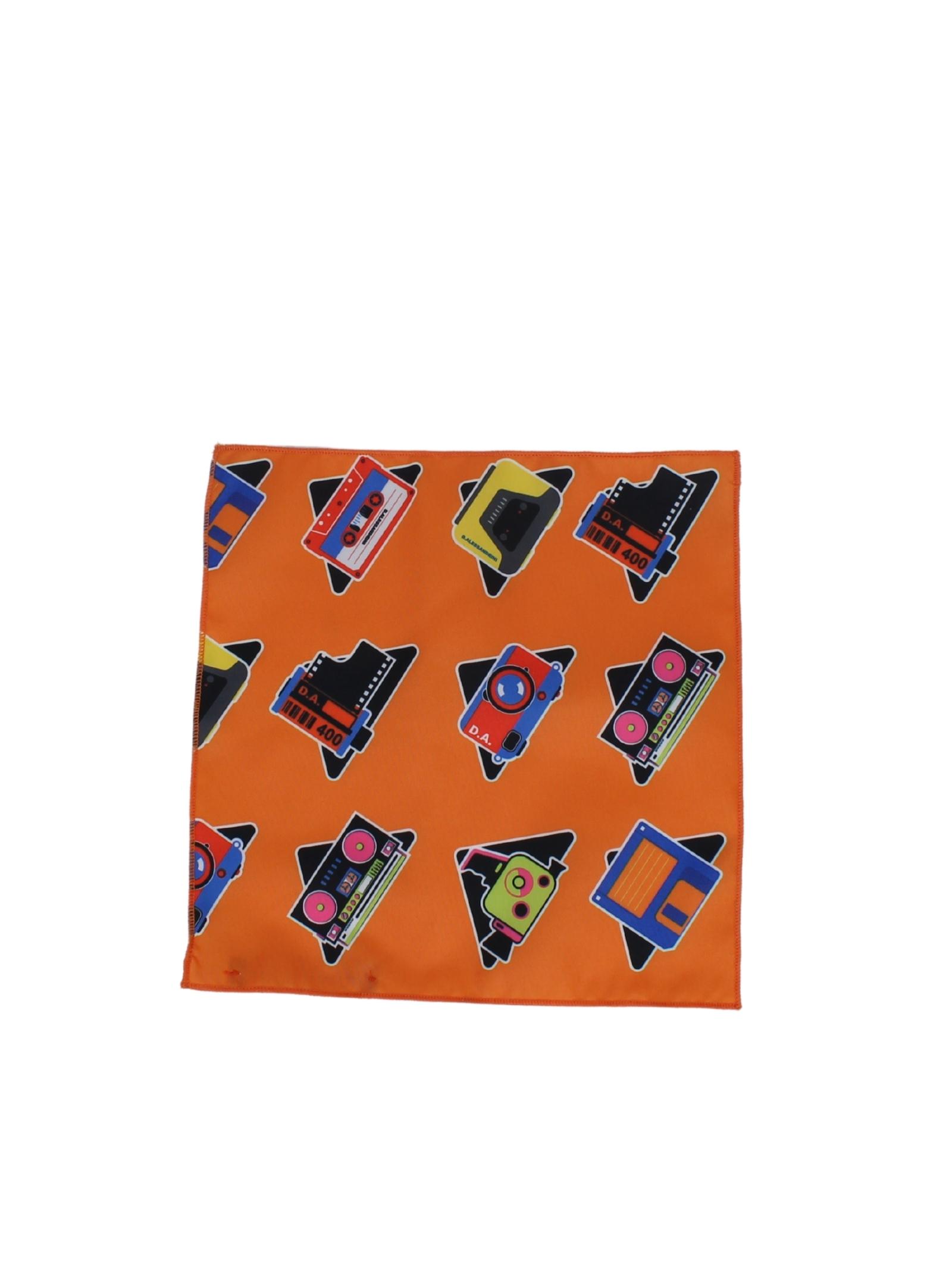 DANIELE ALESSANDRINI JUNIOR | Handkerchief | 1235ACC0943FMULTICOLOR