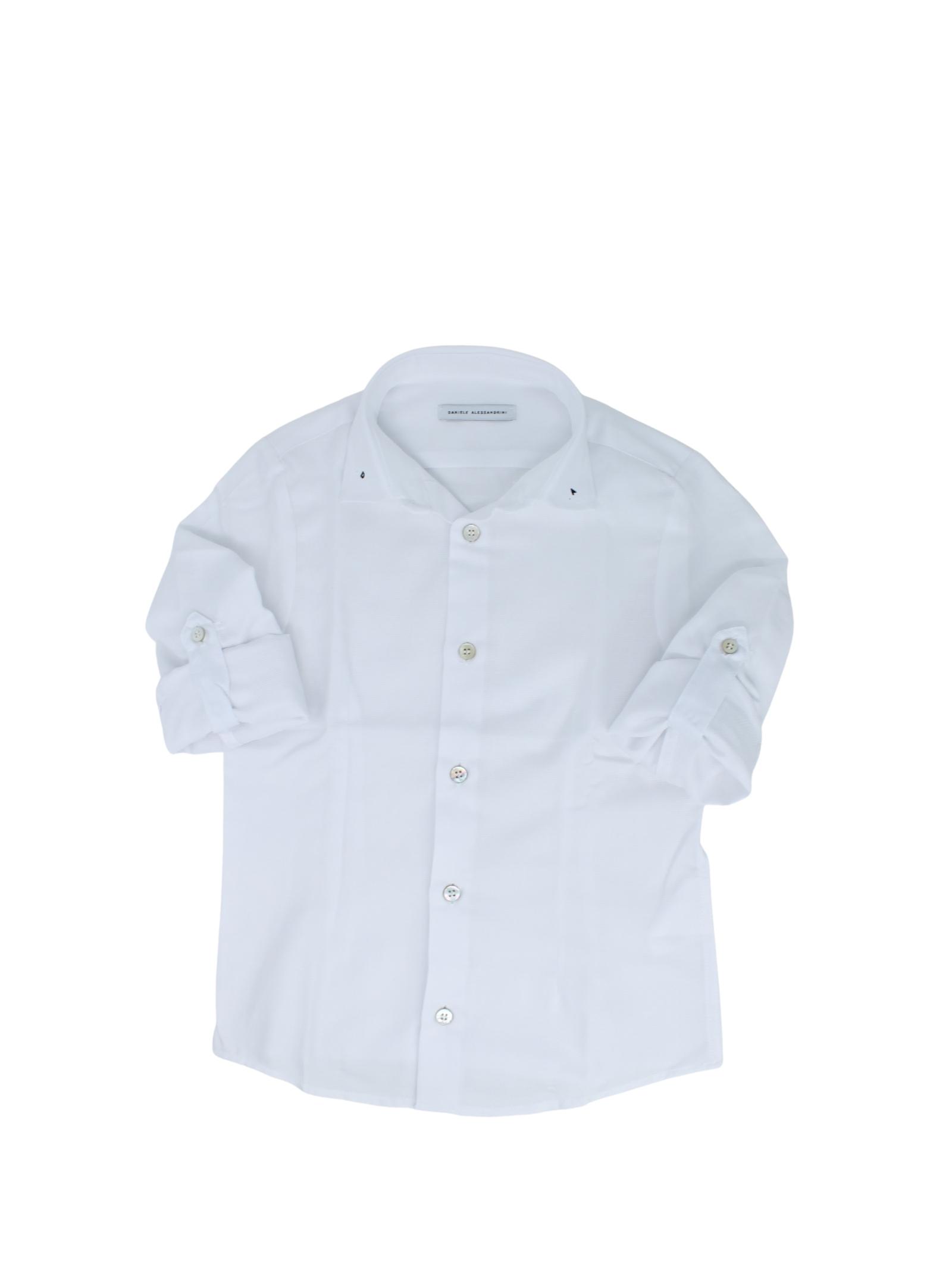 Camicia Bambino DA DANIELE ALESSANDRINI JUNIOR   Camicie   1235C0839BIANCO