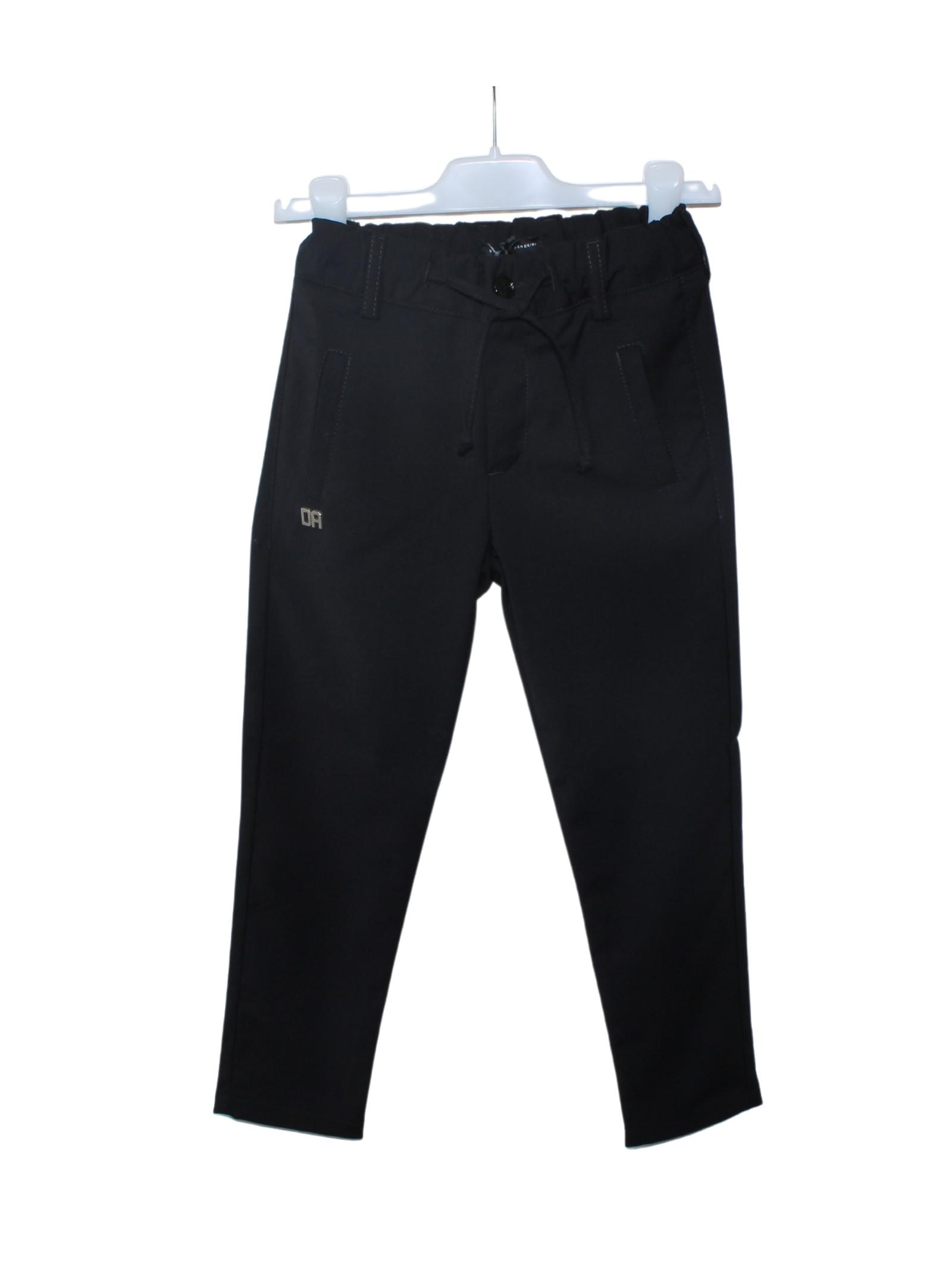 Pantalone Bambino Black DANIELE ALESSANDRINI JUNIOR | Pantaloni | 1235P0833NERO