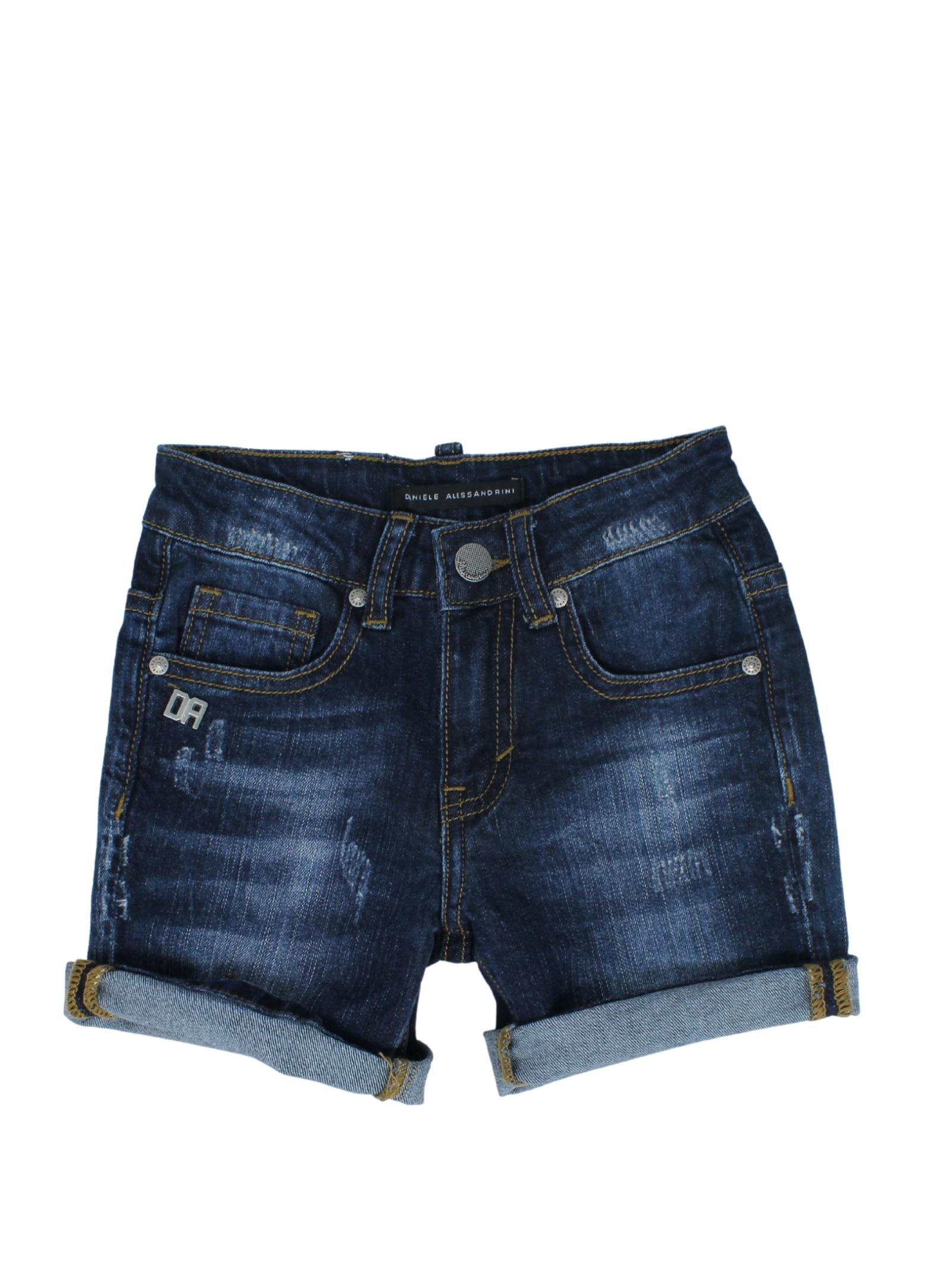 DANIELE ALESSANDRINI JUNIOR | Trousers | 1236D0853DENIM