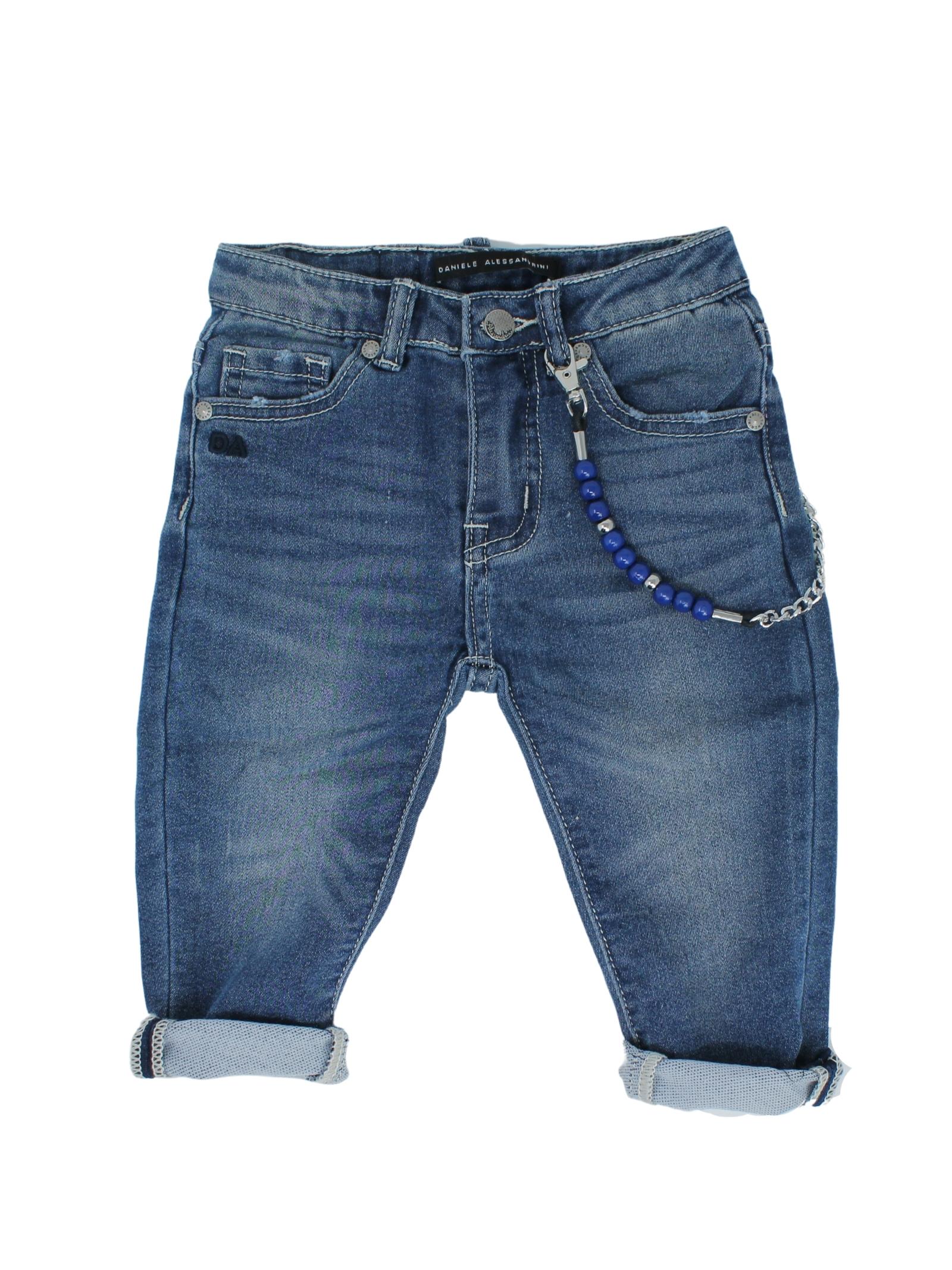 DANIELE ALESSANDRINI JUNIOR | Trousers | 1295D0528SKY