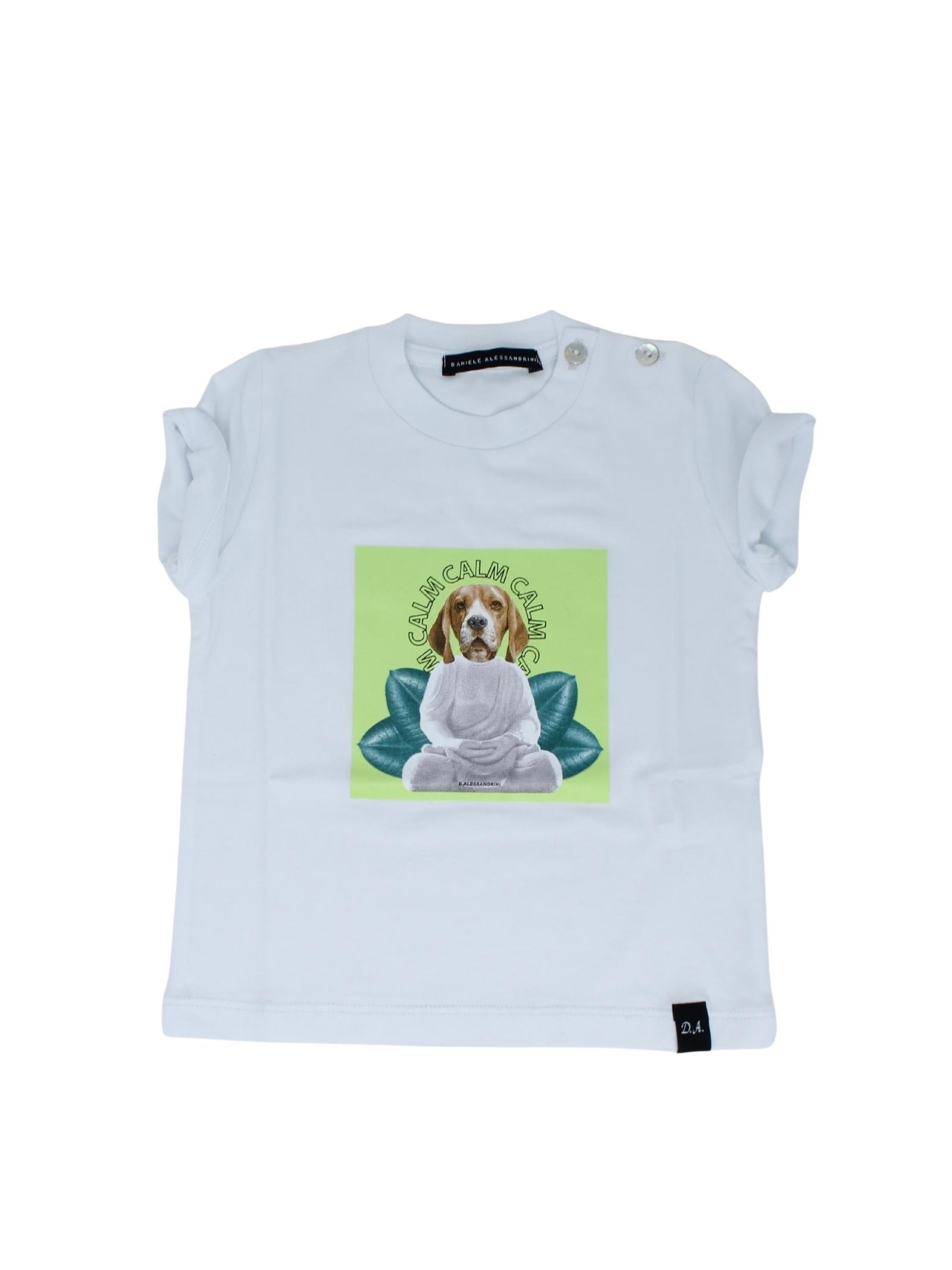 DANIELE ALESSANDRINI JUNIOR | T-shirt | 1296M0594WHITE