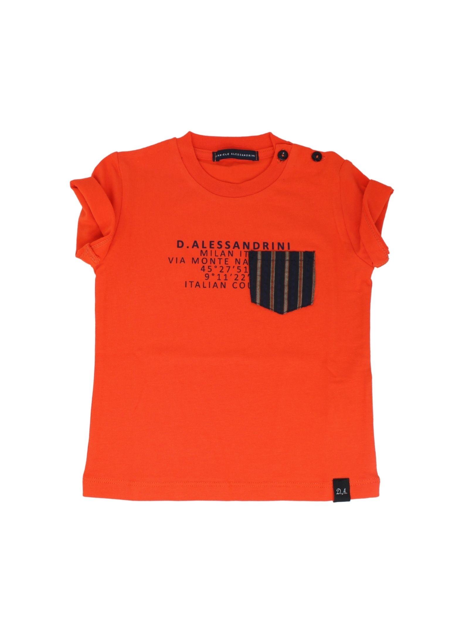 DANIELE ALESSANDRINI JUNIOR | T-shirt | 1296M0613ARANCIO