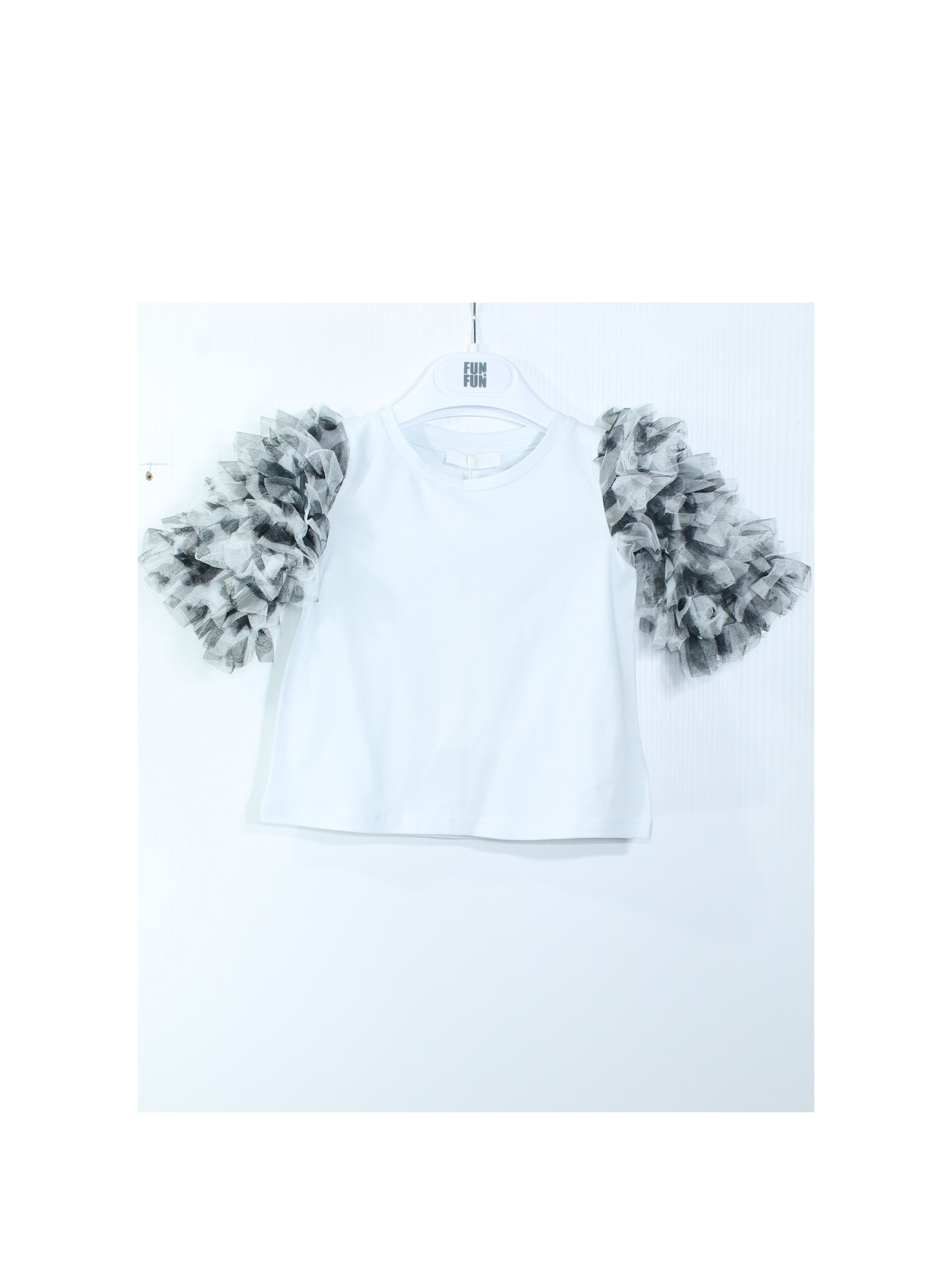 FUN&FUN | T-shirt | FNBTS8364BIANCO