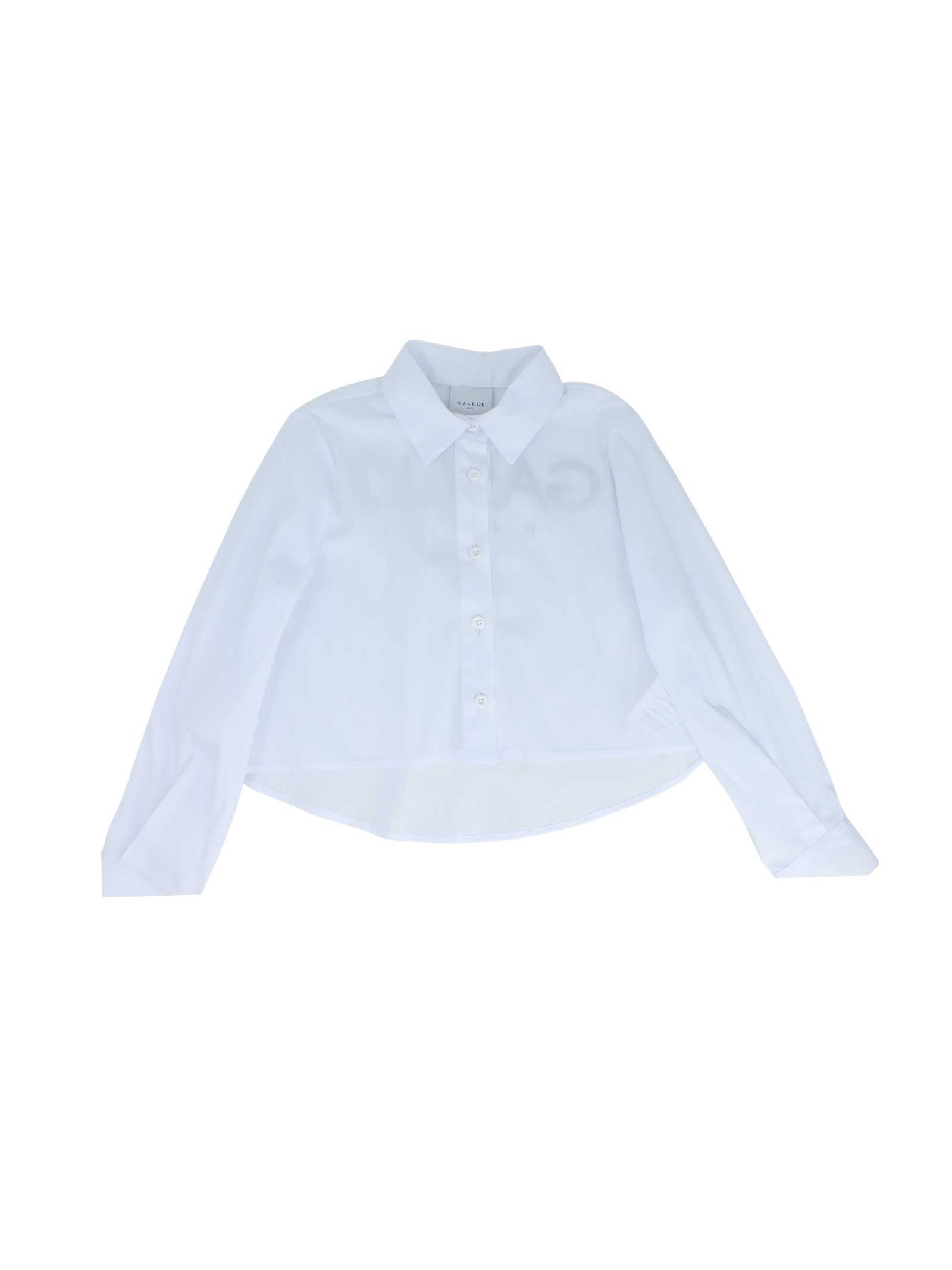 Camicia Swarovski Bambina GAËLLE PARIS KIDS | Camicie | 2746C0368WHITE