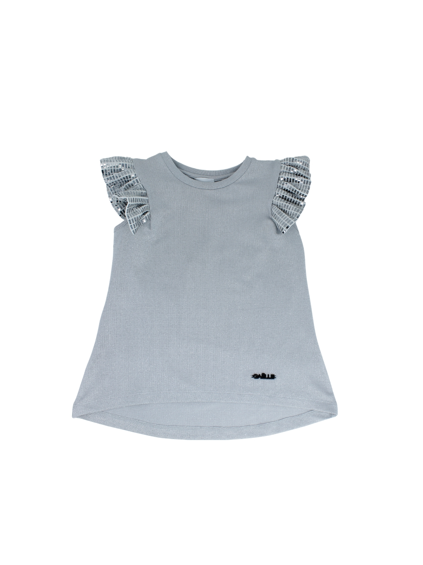 Top Mirror Bambina  GAËLLE PARIS KIDS | T-shirt | 2746M0373SILVER
