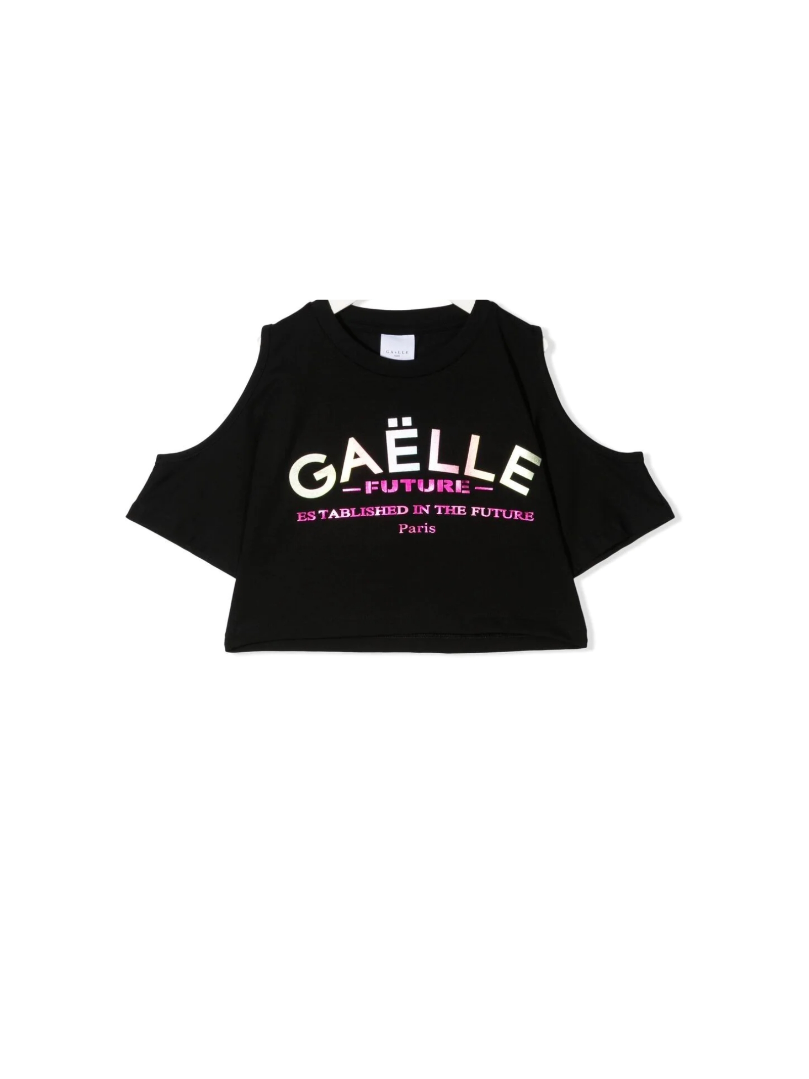 Top Logo Unicorno Bambina GAËLLE PARIS KIDS | T-shirt | 2746M0380BLACK