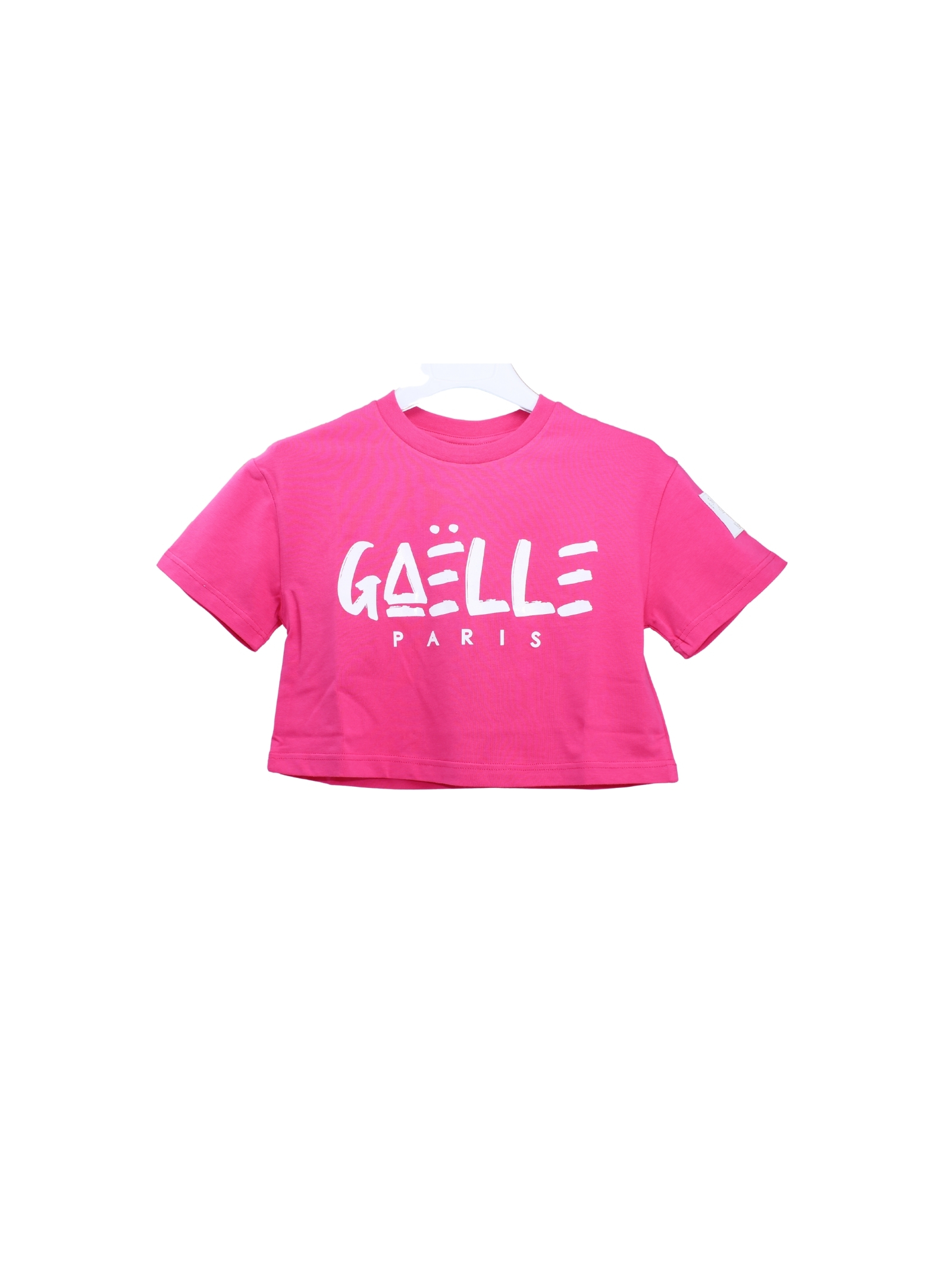 Top Logo Bambina GAËLLE PARIS KIDS | T-shirt | 2746M0430FUCSIA