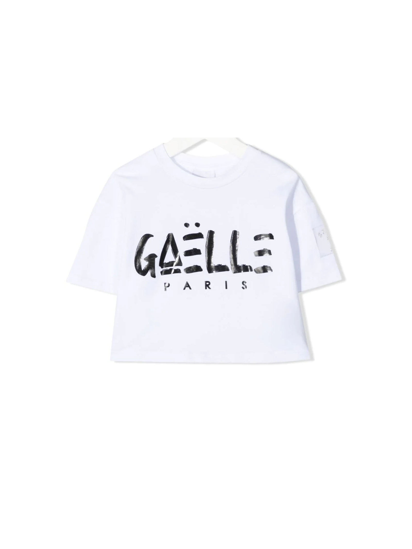 Top Logo Bambina GAËLLE PARIS KIDS | T-shirt | 2746M0430WHITE
