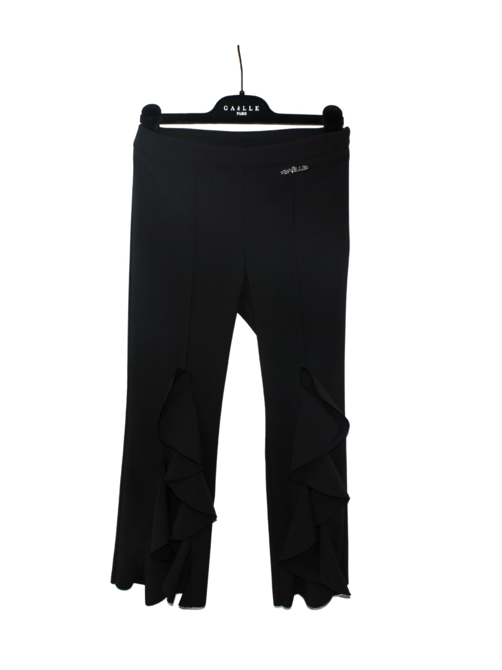 Pantalone Zampa Rouche Bambina GAËLLE PARIS KIDS | Pantaloni | 2746P0369BLACK