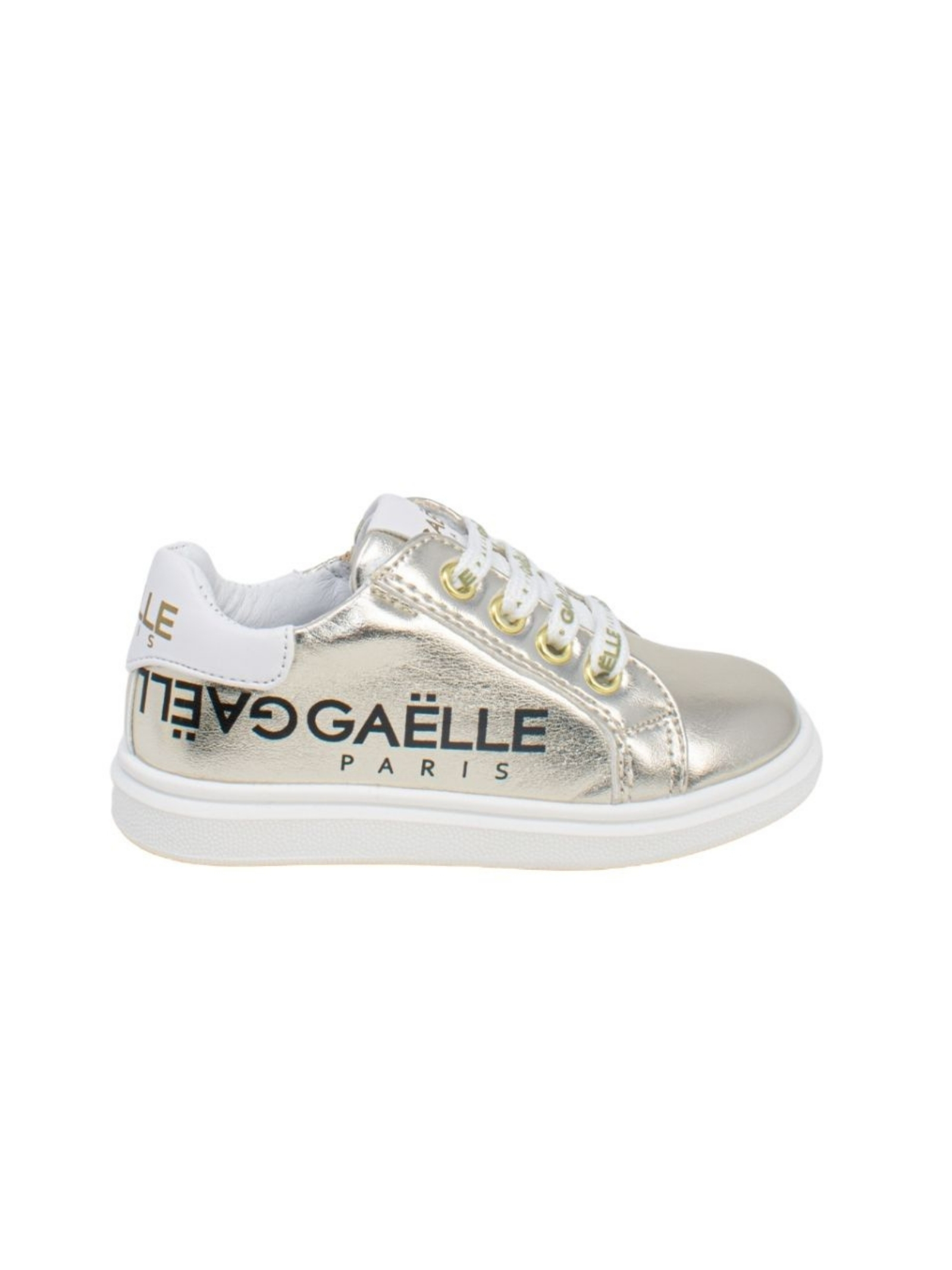 Sneakers Bambina Golden GAËLLE PARIS KIDS | Sneakers | G742PLATINO
