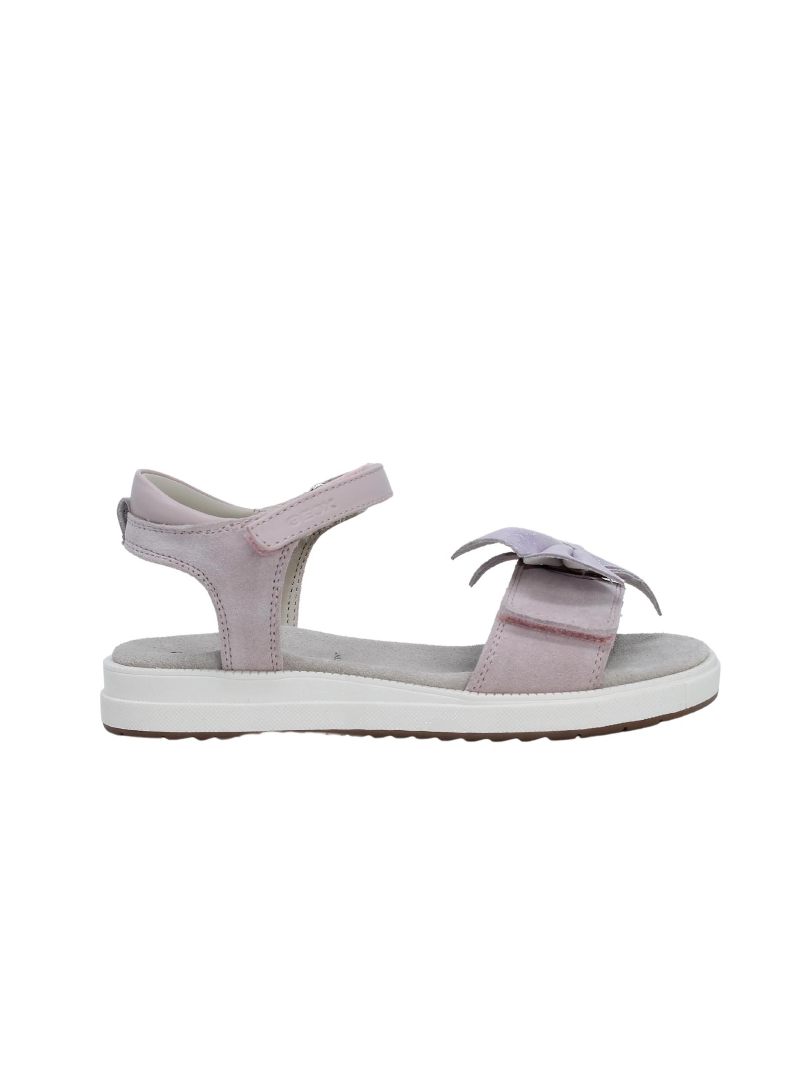Sandalo Bambina Suede GEOX KIDS | Sandali | J15BLE022BCC8172