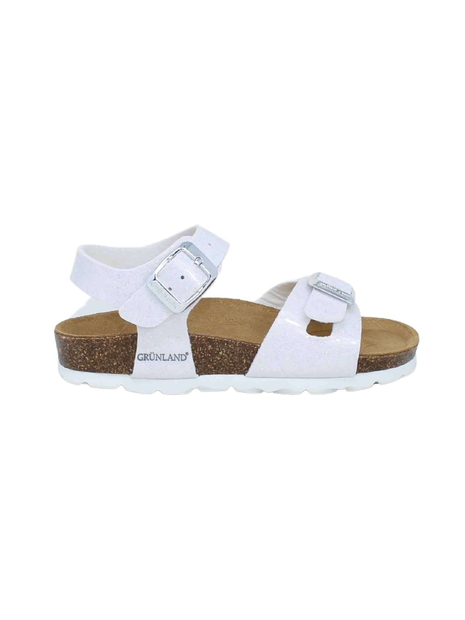 GRUNLAND JUNIOR | Sandals | 1208BIANCO