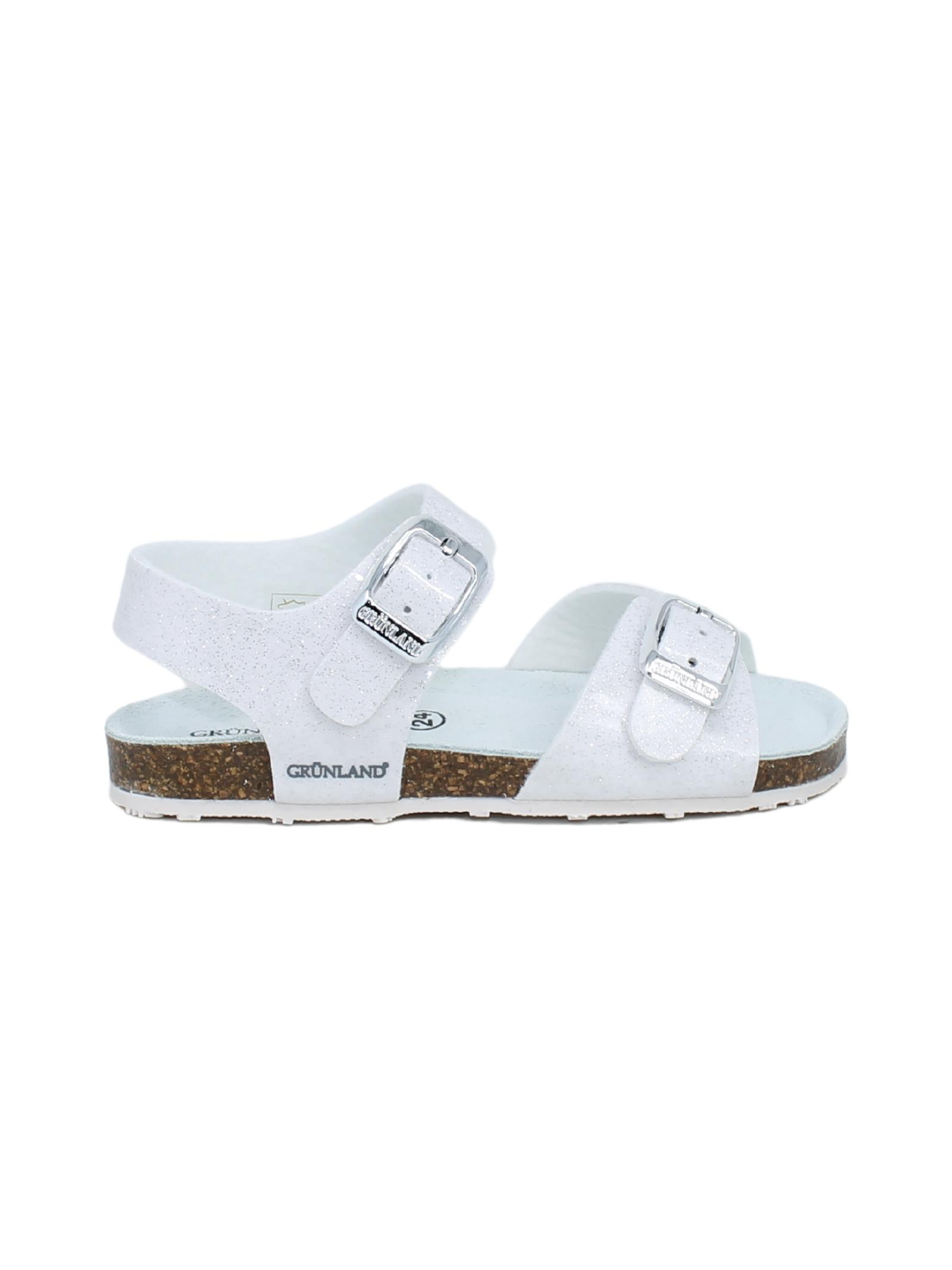 GRUNLAND JUNIOR | Sandals | 1258GBIANCO