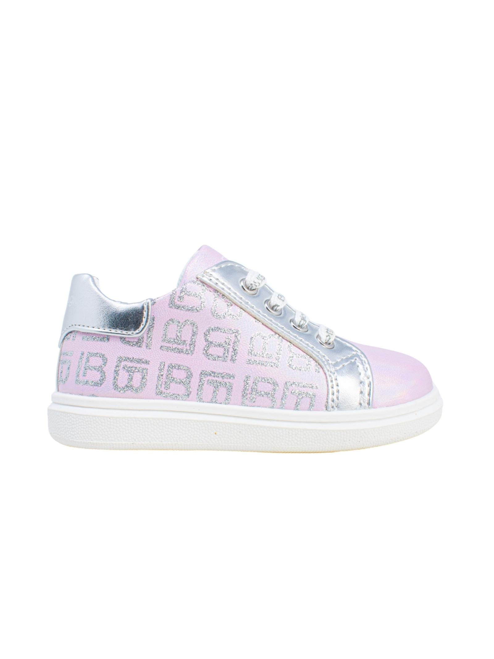 Sneakers Bambina Sirena Logo LAURA BIAGIOTTI KIDS | Sneakers | 7421ROSA