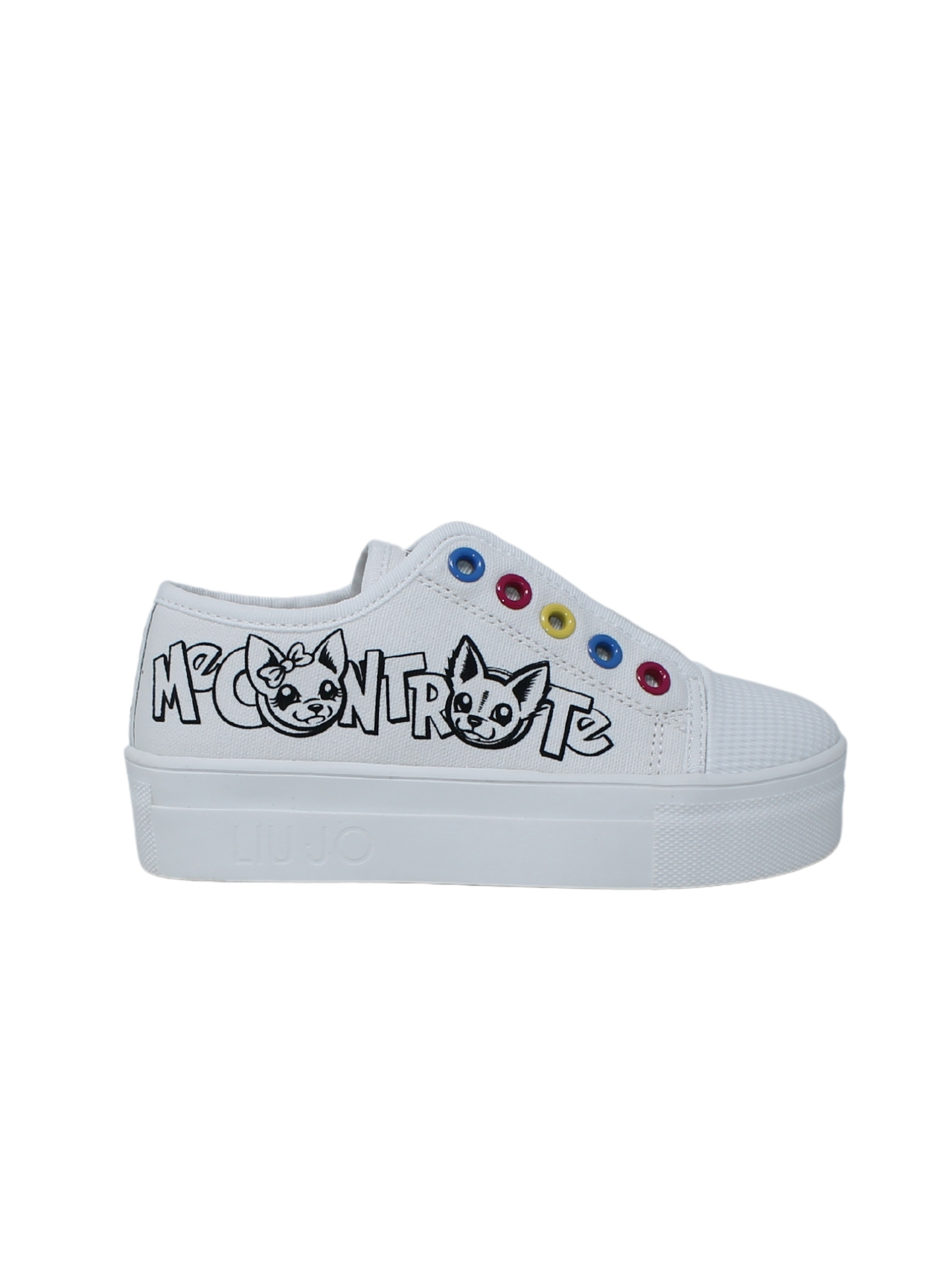 Sneakers Bambina Color LIU-JO MECONTROTE | Sneakers | 4A0805T6948BIANCO