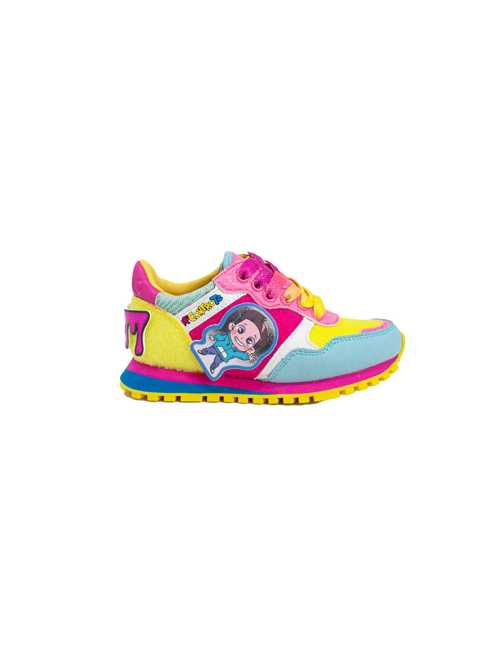 Sneaker e Bag Bambina Wonder 2 MECONTROTE LIU-JO MECONTROTE | Sneakers | 4B1003TX212S1136MULTICOLOR