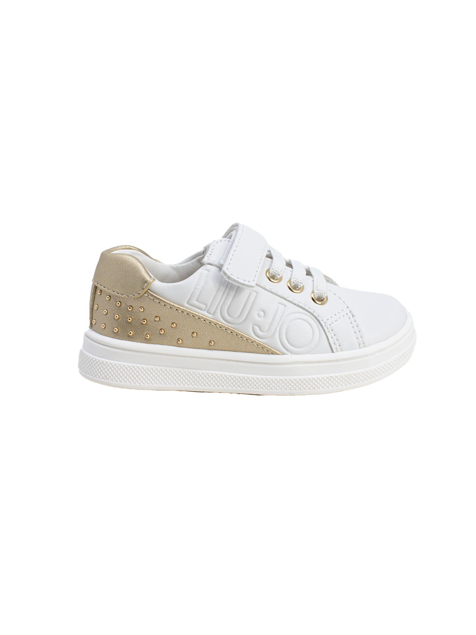 LIU-JO JUNIOR | Sneakers | 4A1303EX01403D05WHITE