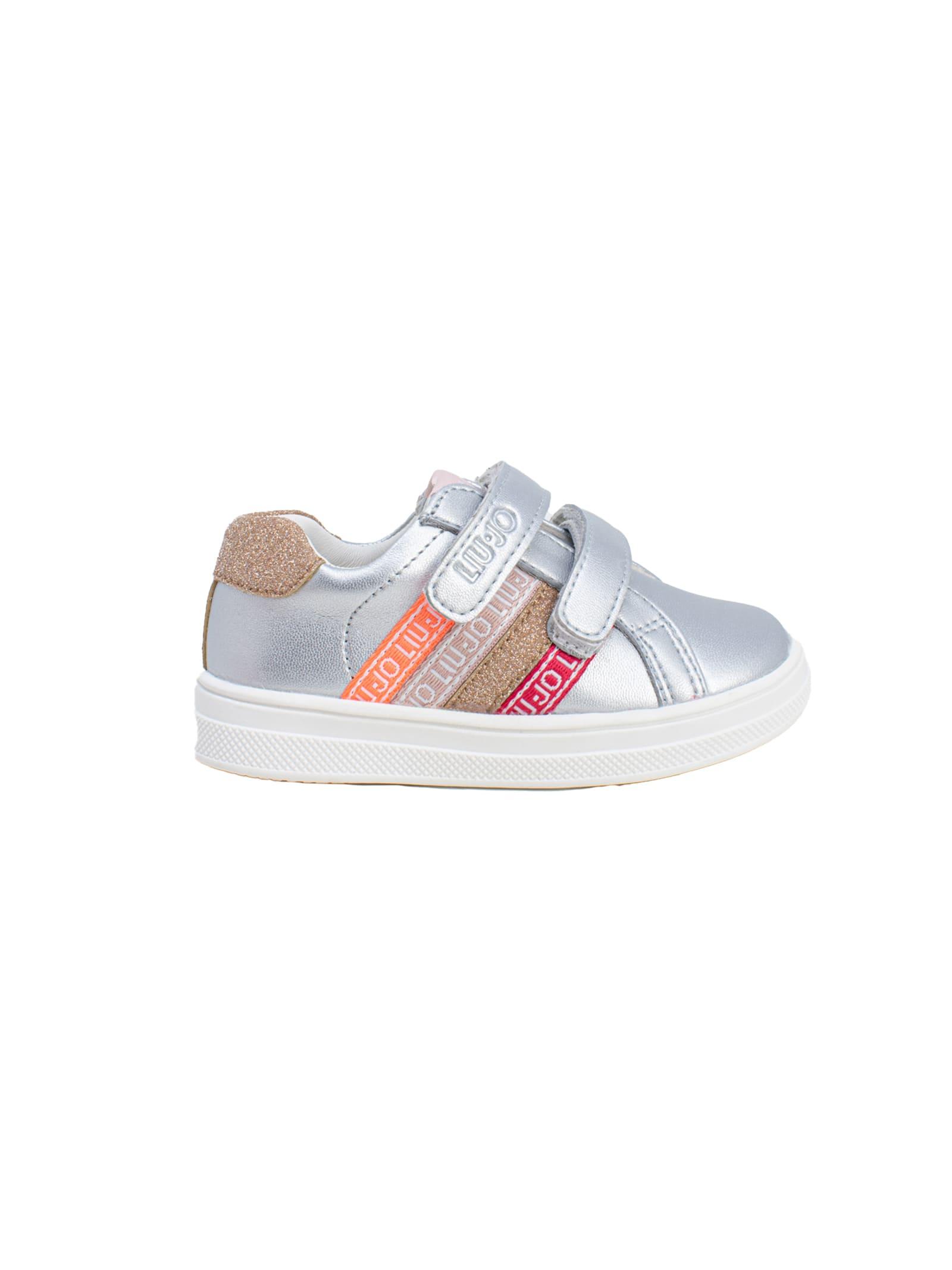 Sneaker Bambina Mini Alicia 305 LIU-JO JUNIOR | Sneakers | 4A1307EX01600532SILVER