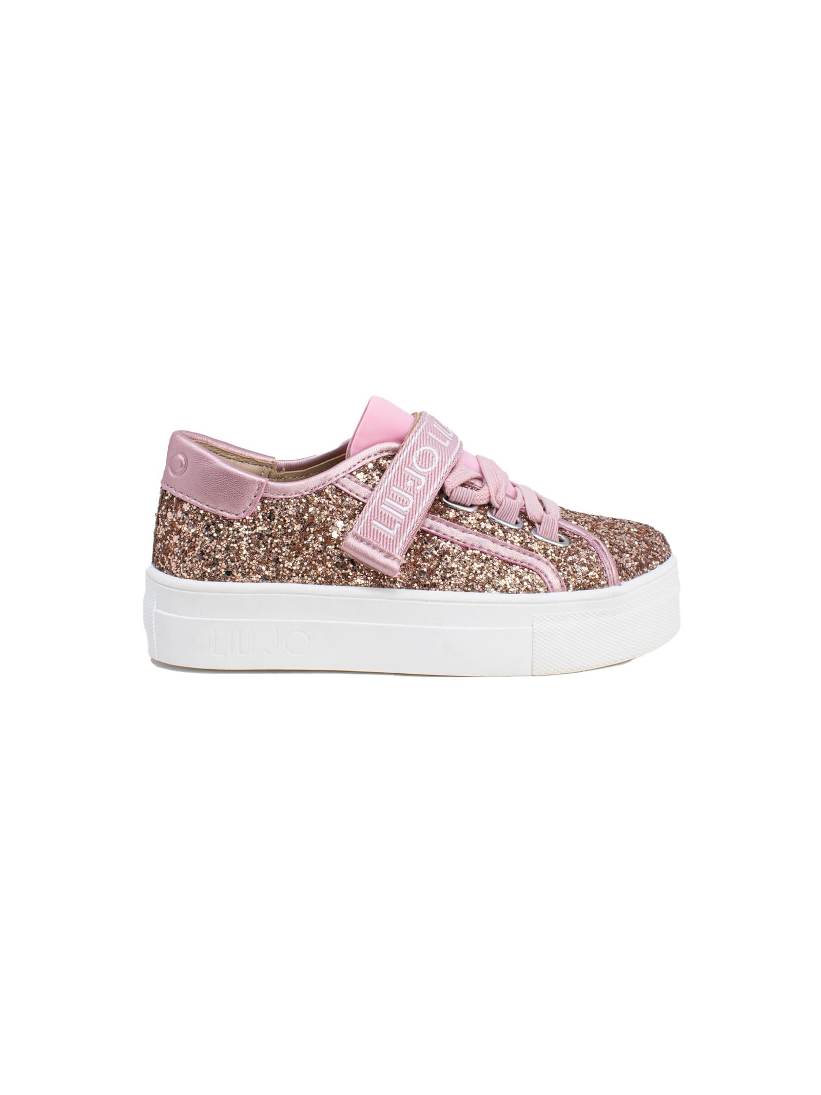 Sneaker Bambina Alicia 26 LIU-JO JUNIOR | Sneakers | 4A1701TX007A7771ROSA GOLD
