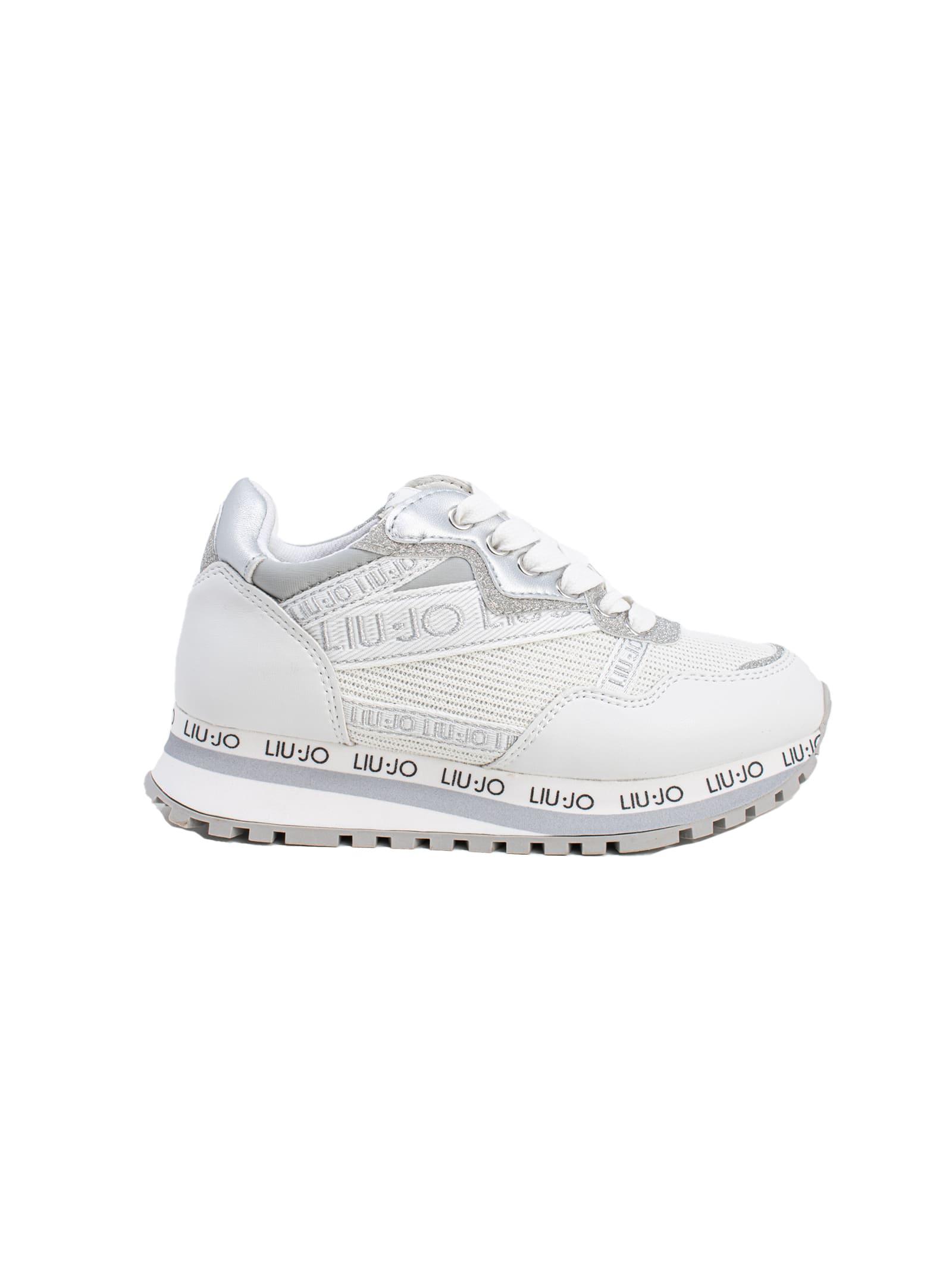 Sneaker Bambina Wonder 17 LIU-JO JUNIOR | Sneakers | 4A1741EX08301111WHITE