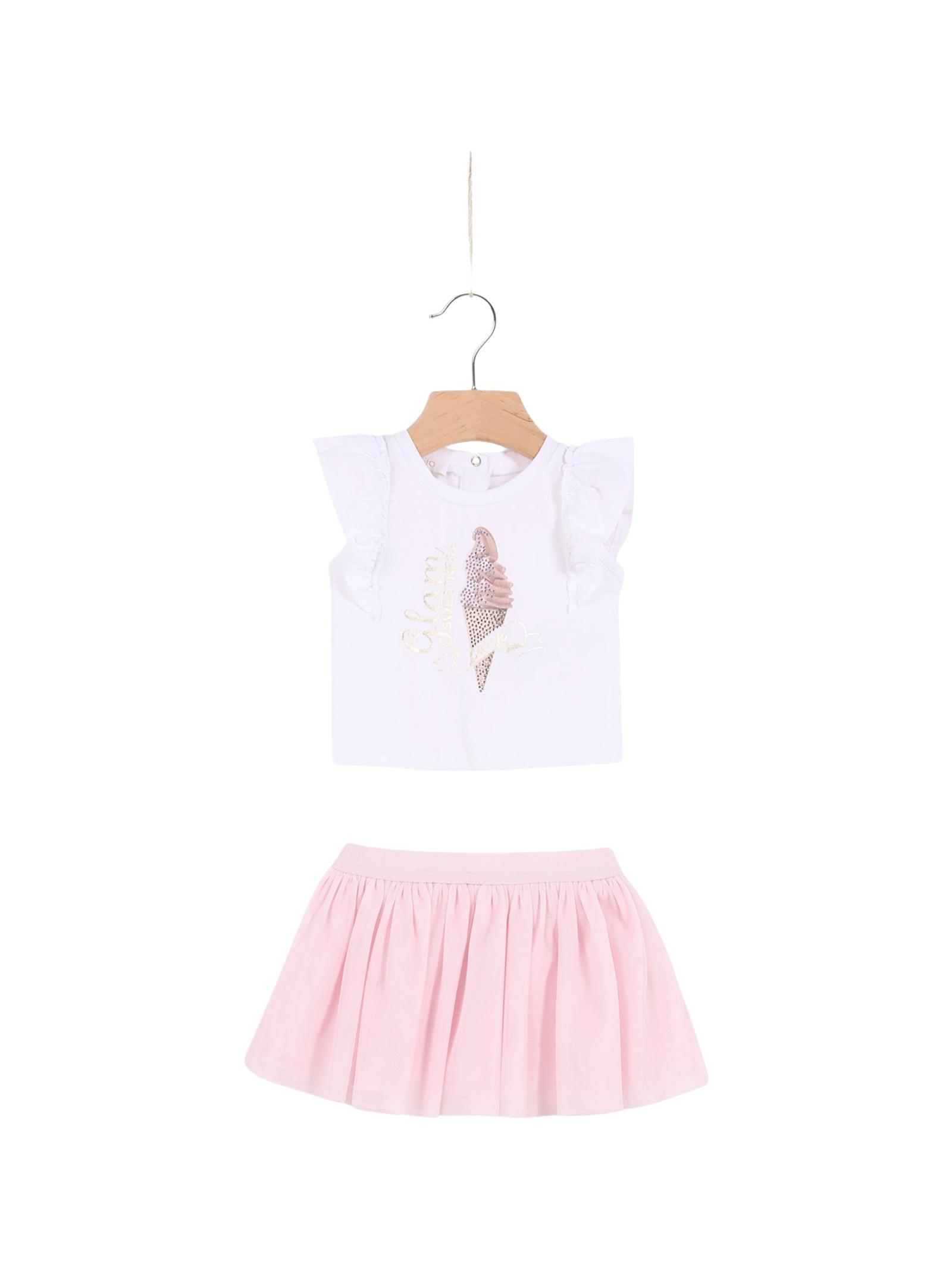 Completo Neonata Sweet Pink  LIU-JO JUNIOR | Completi | HA1085J5003B3877