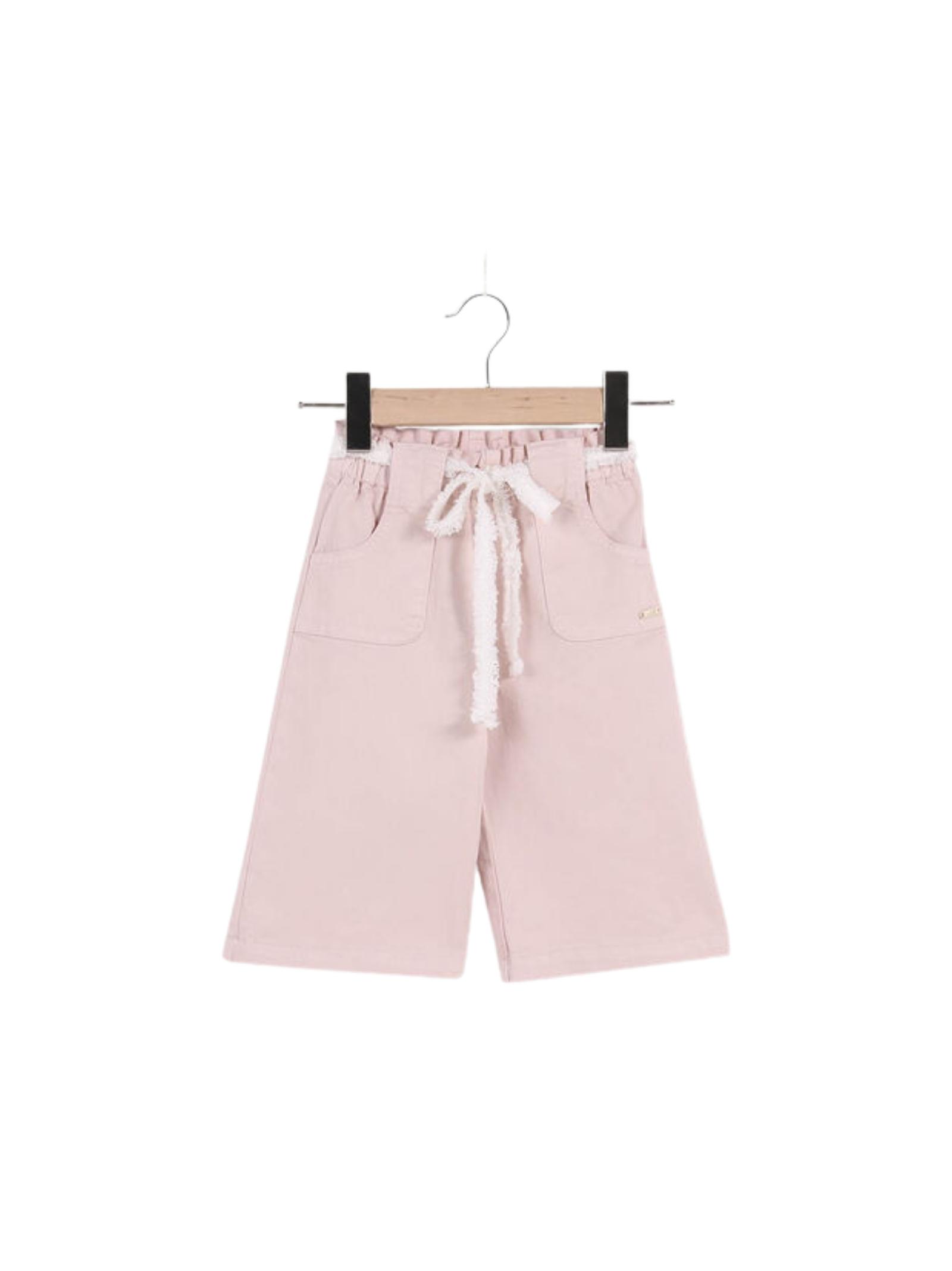 Pantalone Bambina Palazzo Pink LIU-JO JUNIOR | Pantaloni | KA1054T586641309