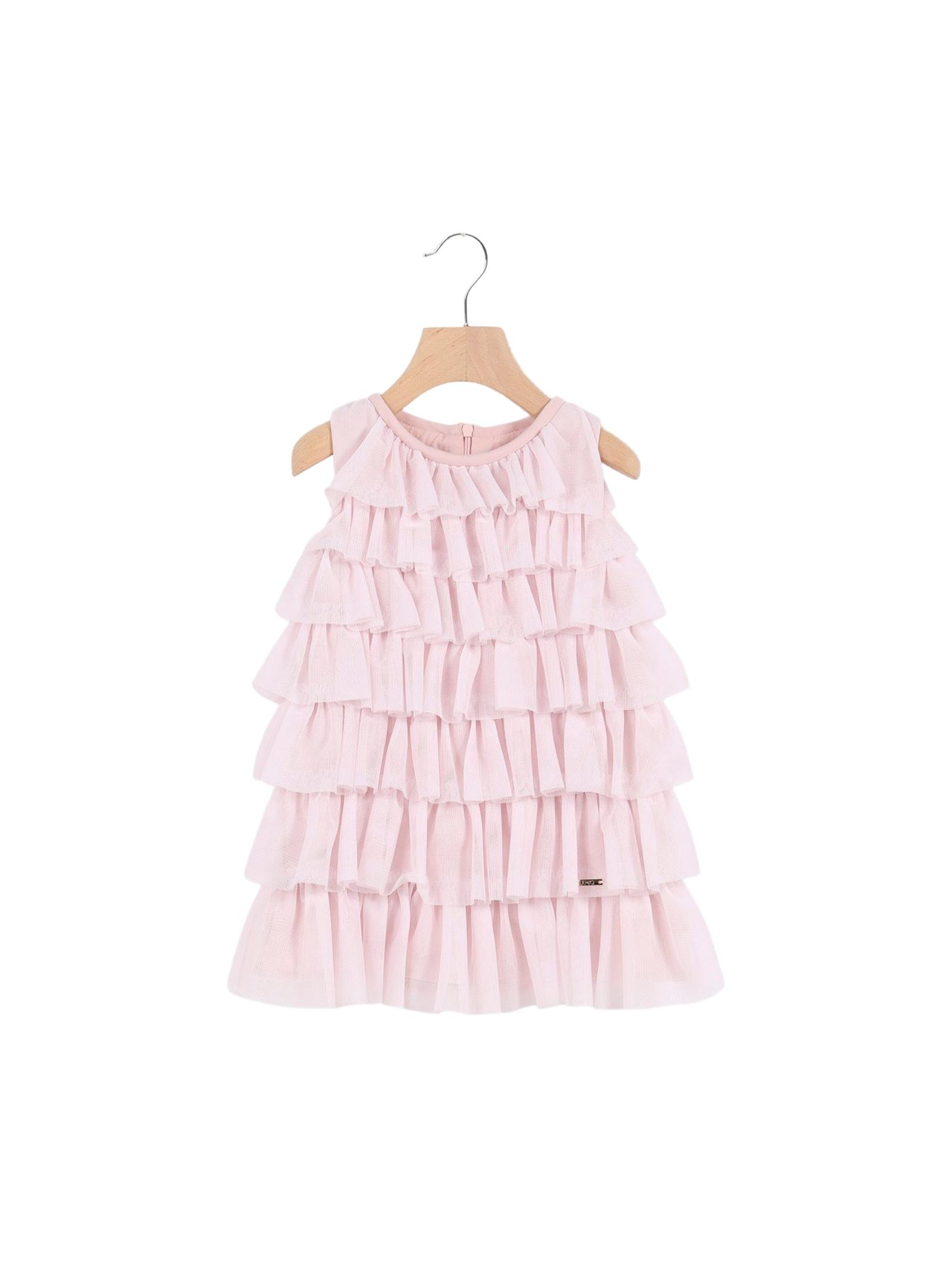 Vestito Bambina Balze Pink LIU-JO JUNIOR | Vestiti | KA1144J766741309