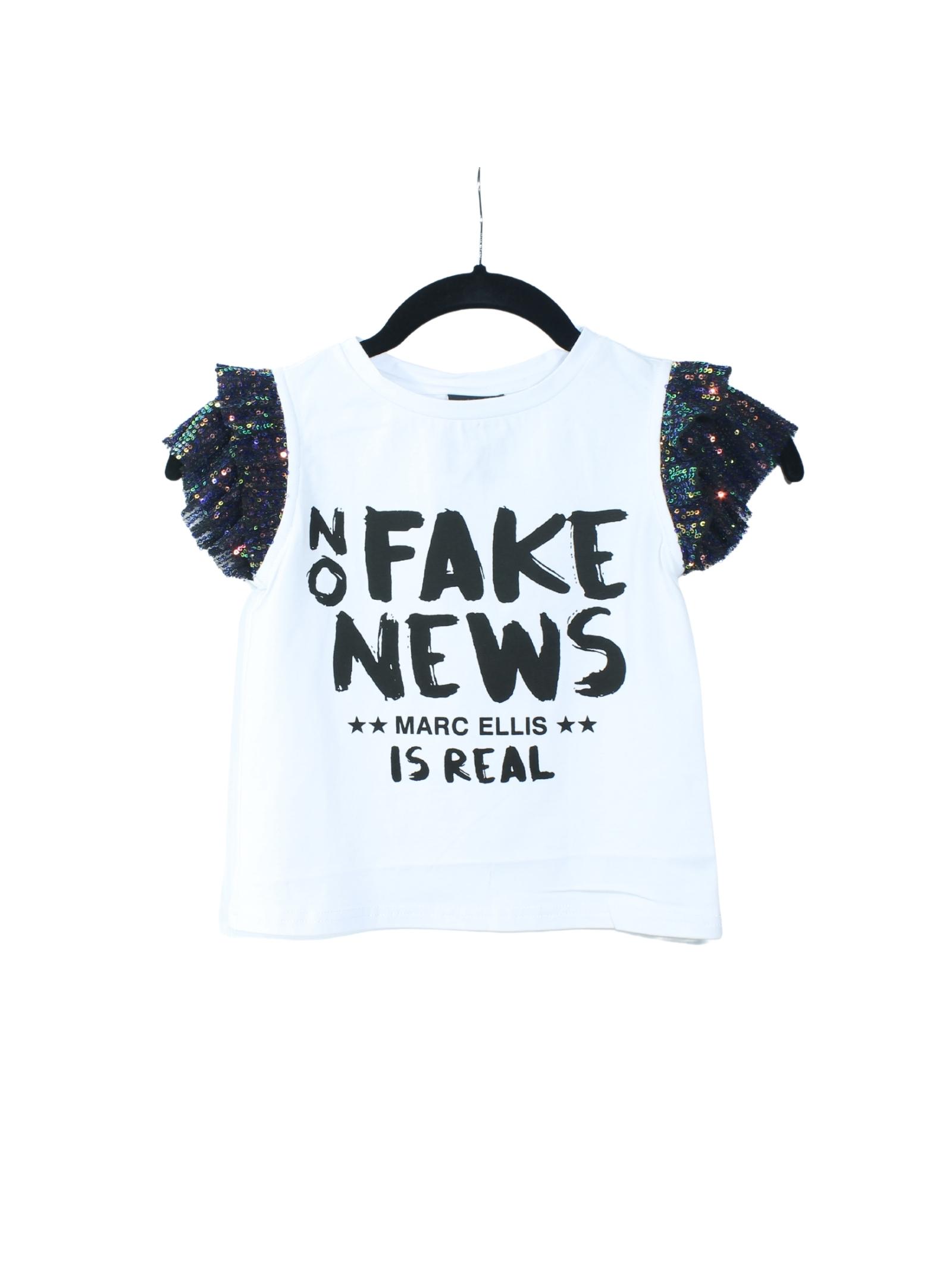 T-shirt Bambina Is Real MARC ELLIS NEW YORK KIDS | T-shirt | JMEJTS8459001