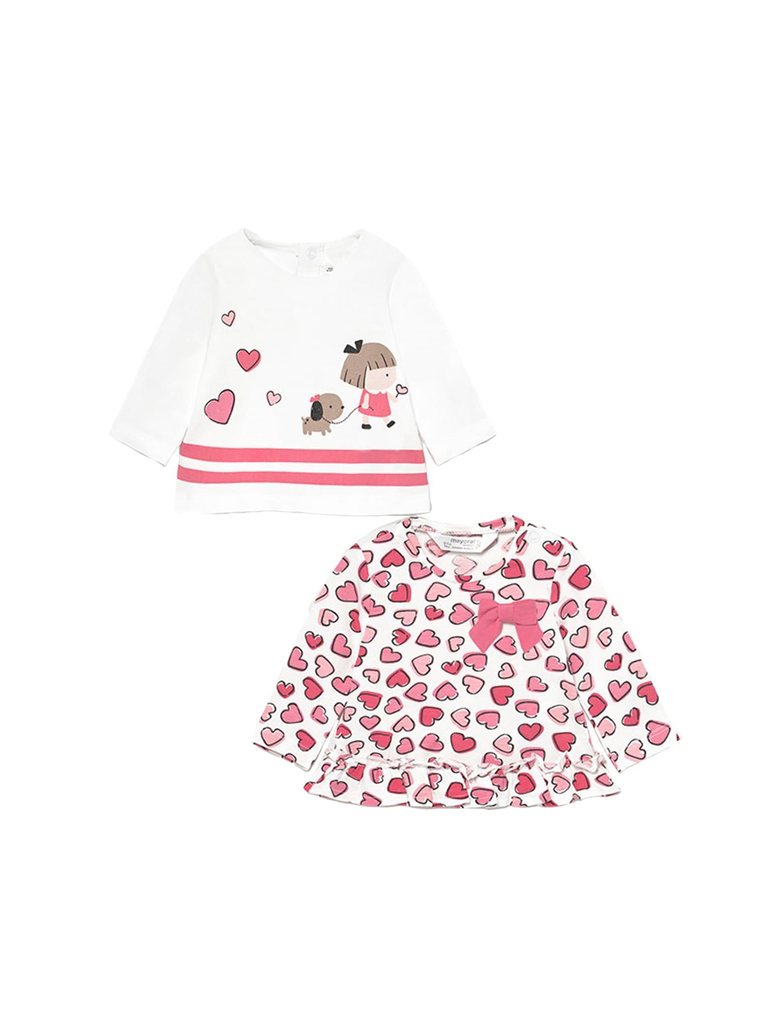 Magliette Pink Fantasy MAYORAL NEWBORN | Maglie | 1073055