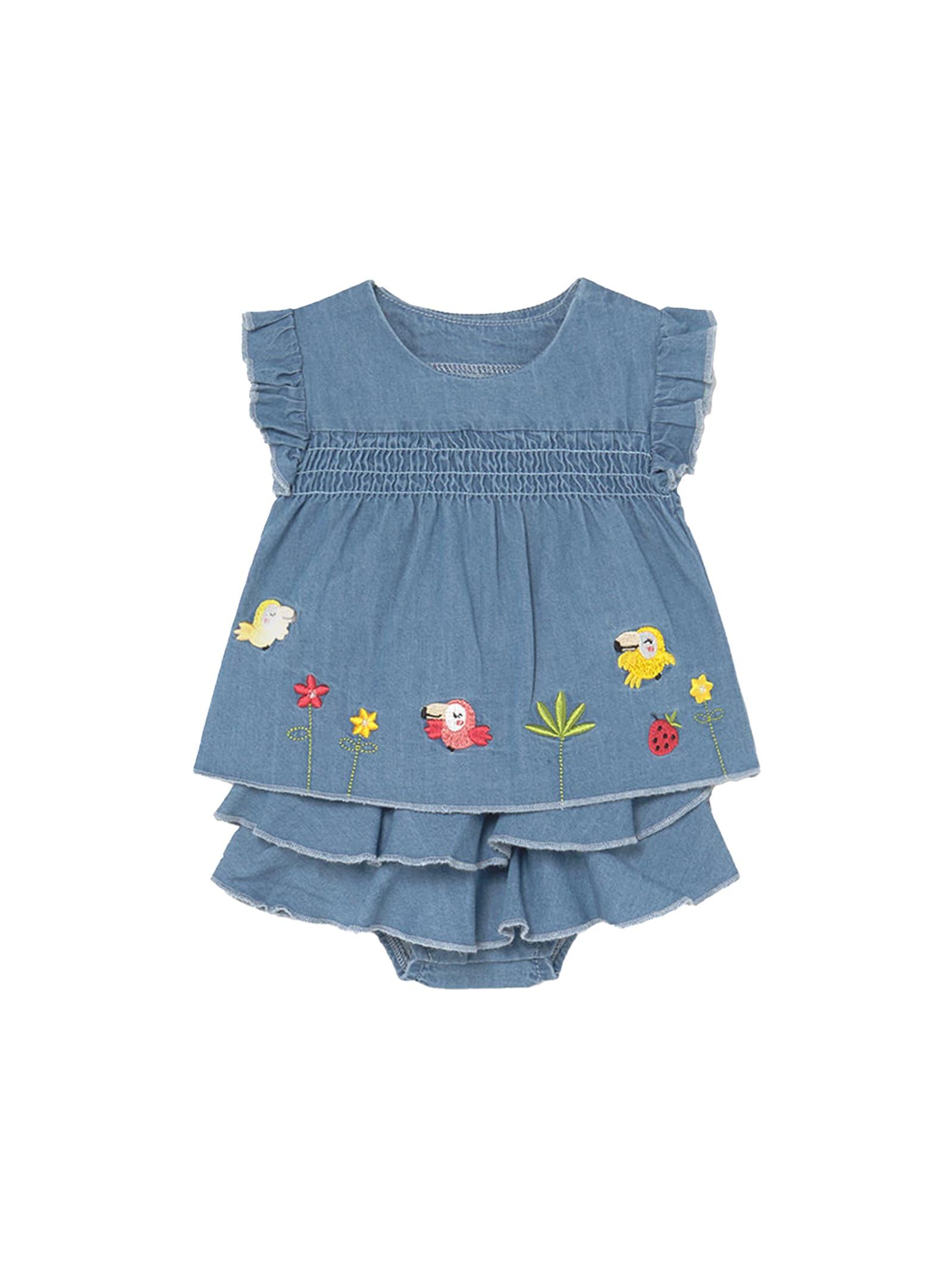 Vestito Jeans Rouche MAYORAL NEWBORN   Completi   1208005