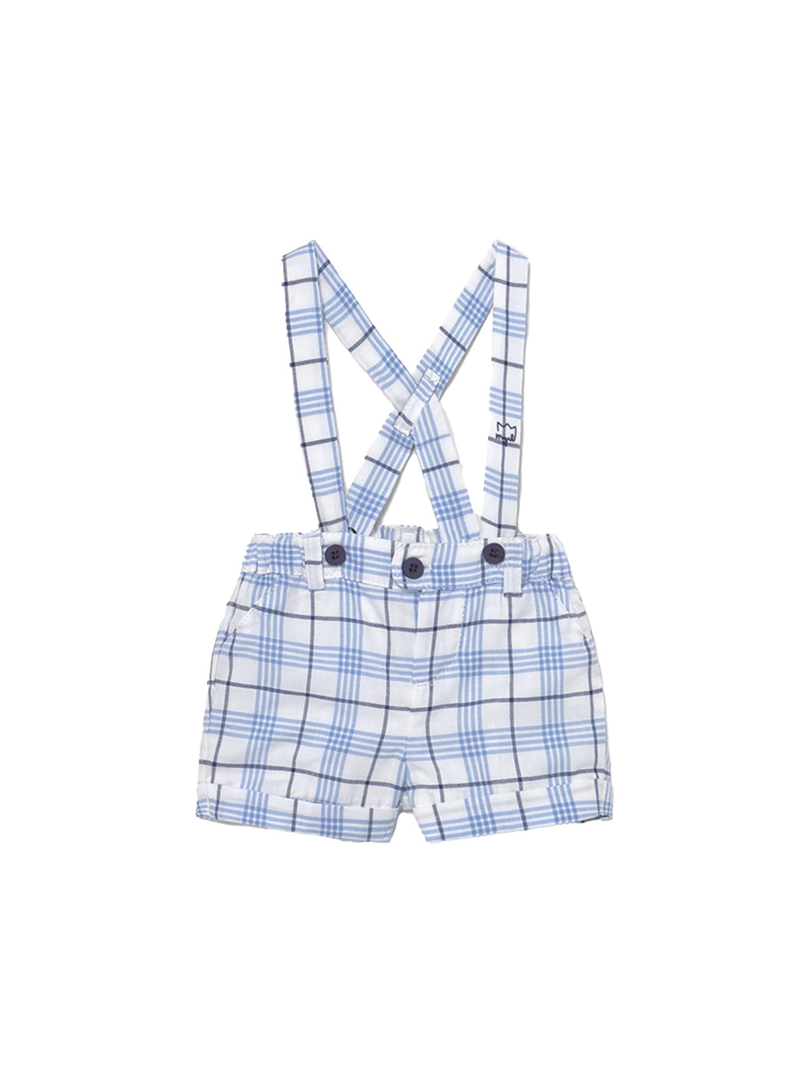 Pantaloncino Con Bretelle MAYORAL NEWBORN | Shorts | 1209002