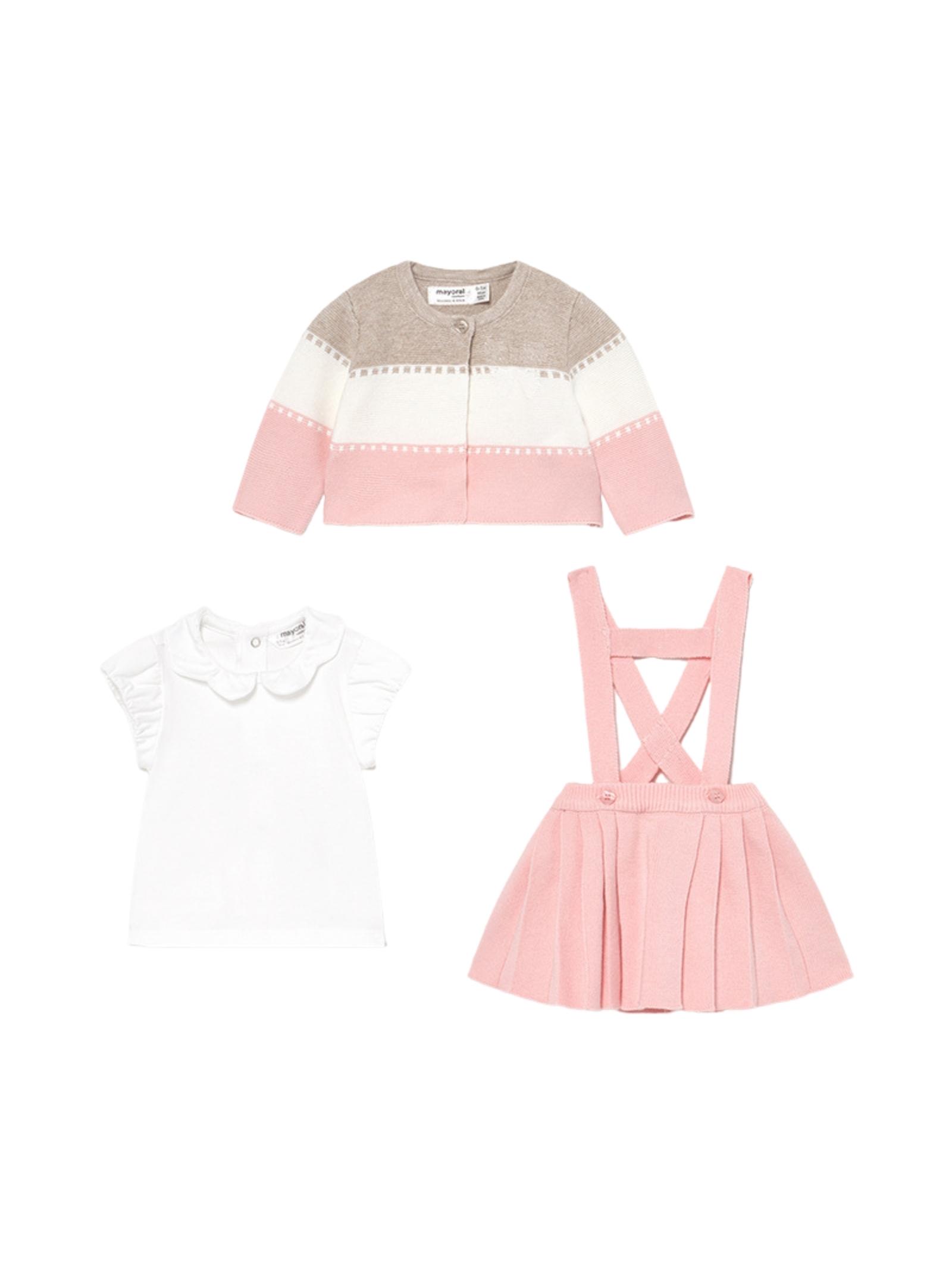 Tris Pink MAYORAL NEWBORN | Completi | 1813002