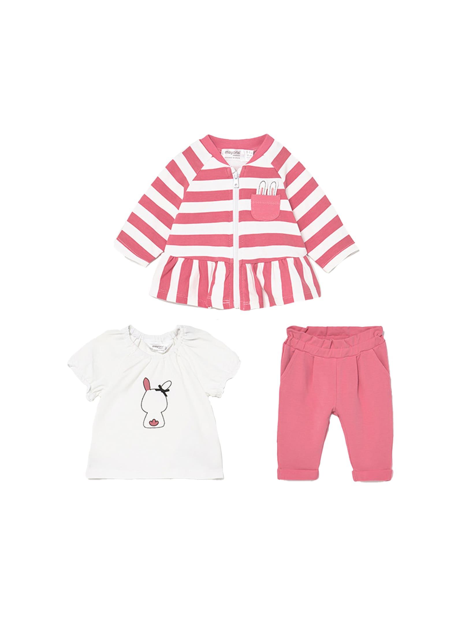 Completo Tuta Flamingo MAYORAL NEWBORN | Completi | 1816010