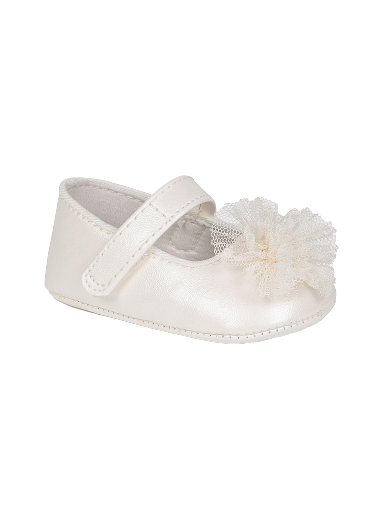 Ballerina Fiore Tulle MAYORAL NEWBORN | Scarpe | 9403051
