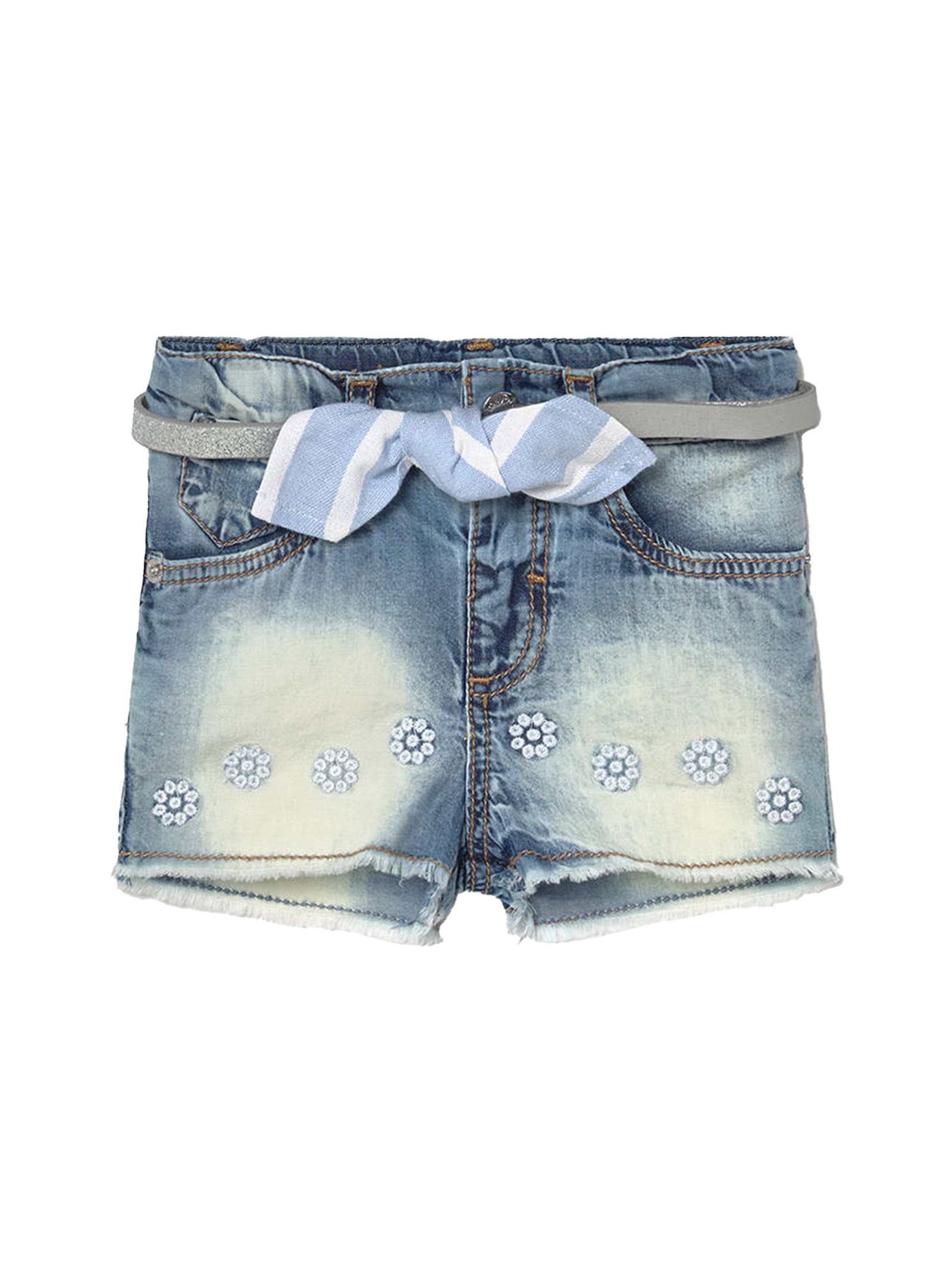 Shorts Jeans Con Fiori MAYORAL | Shorts | 1225085