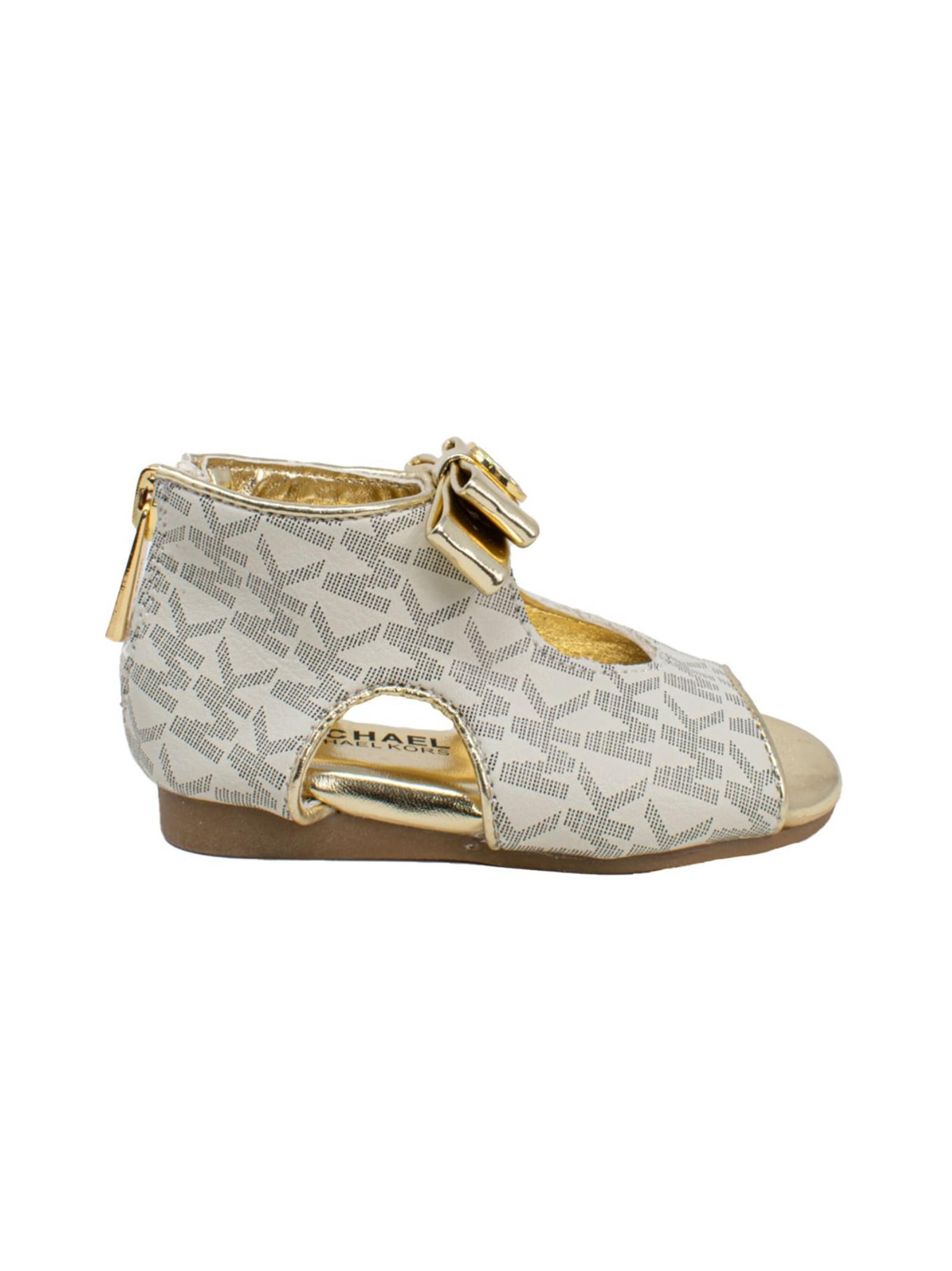 Sandalo Bambina Gold MK MICHAEL KORS JUNIOR | Sandali | MK100061TVANILLA