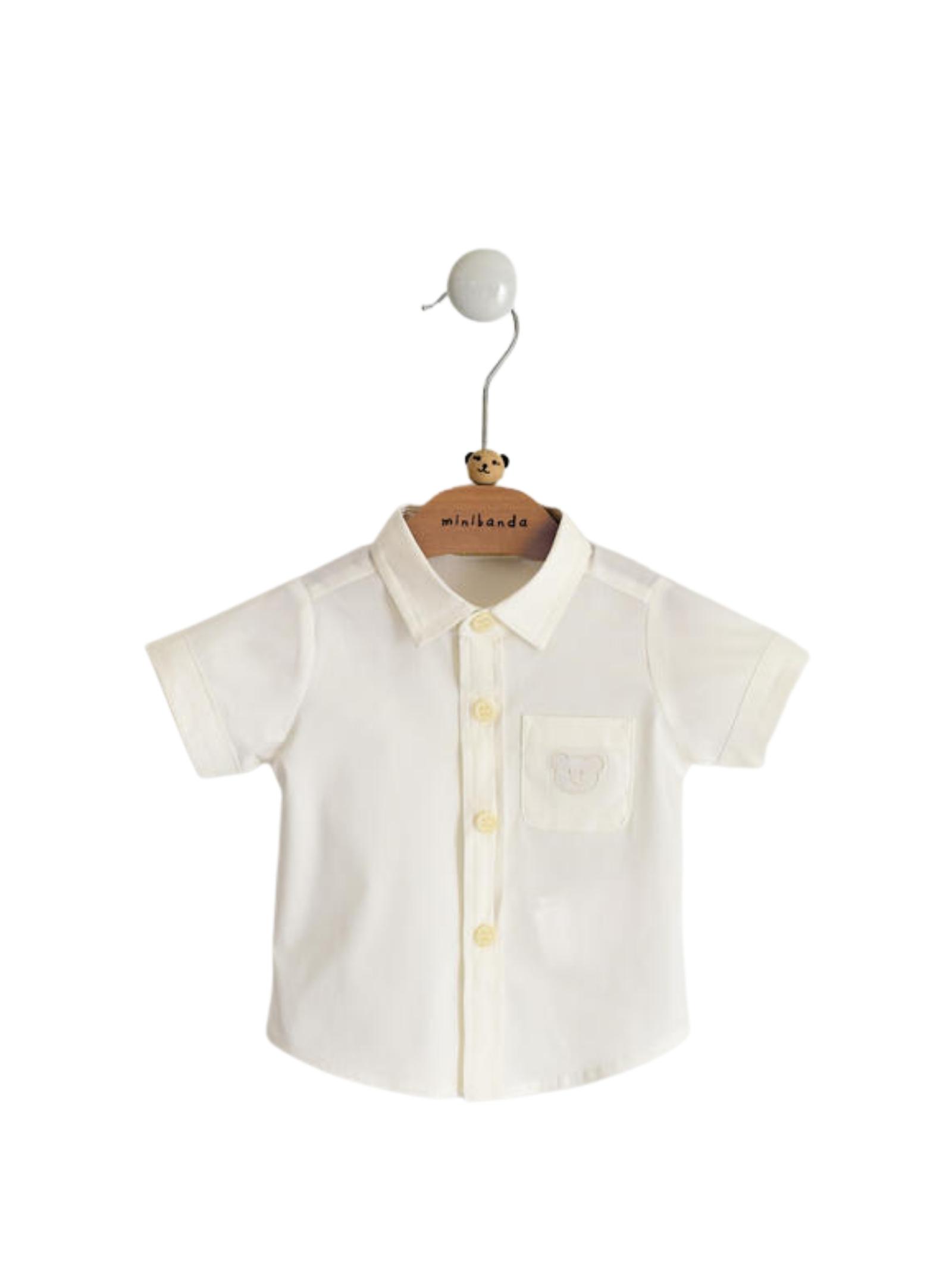 Camicia Cream MINIBANDA | Camicie | 32617000112