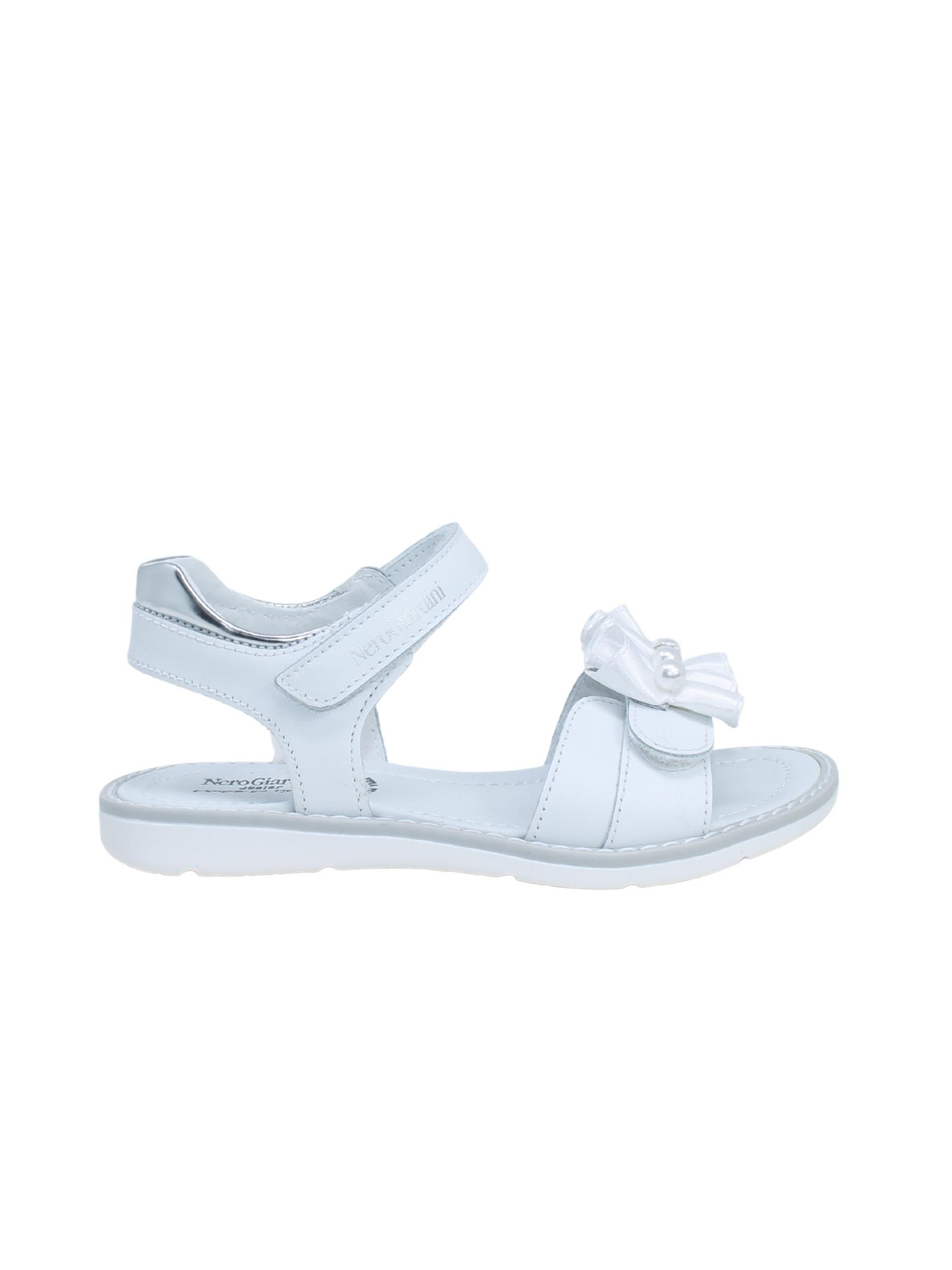 Sandalo Bambina Perle NERO GIARDINI JUNIOR | Sandali | E128160F707
