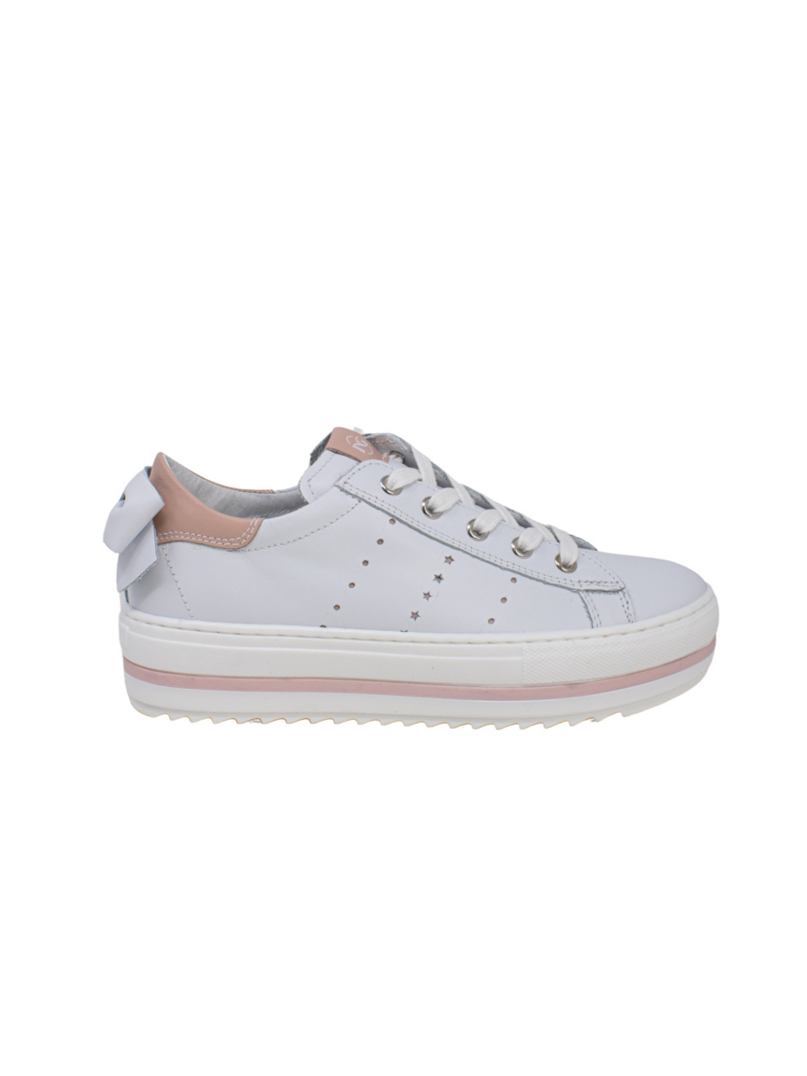 Sneakers Bambina Fiocco Cile NERO GIARDINI JUNIOR | Sneakers | E031570F707