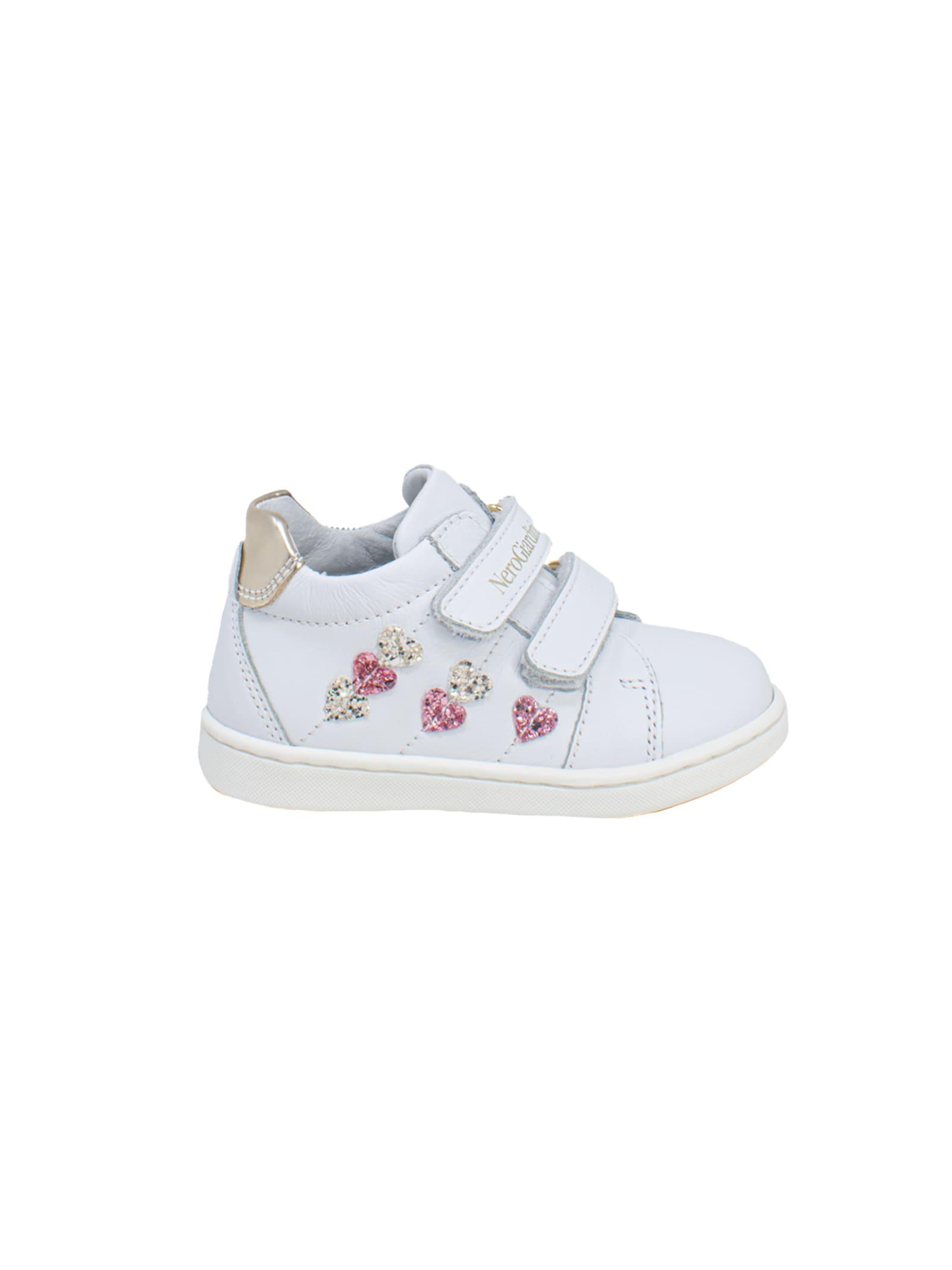 Sneakers Bambina Heart NERO GIARDINI JUNIOR | Sneakers | E118231F707