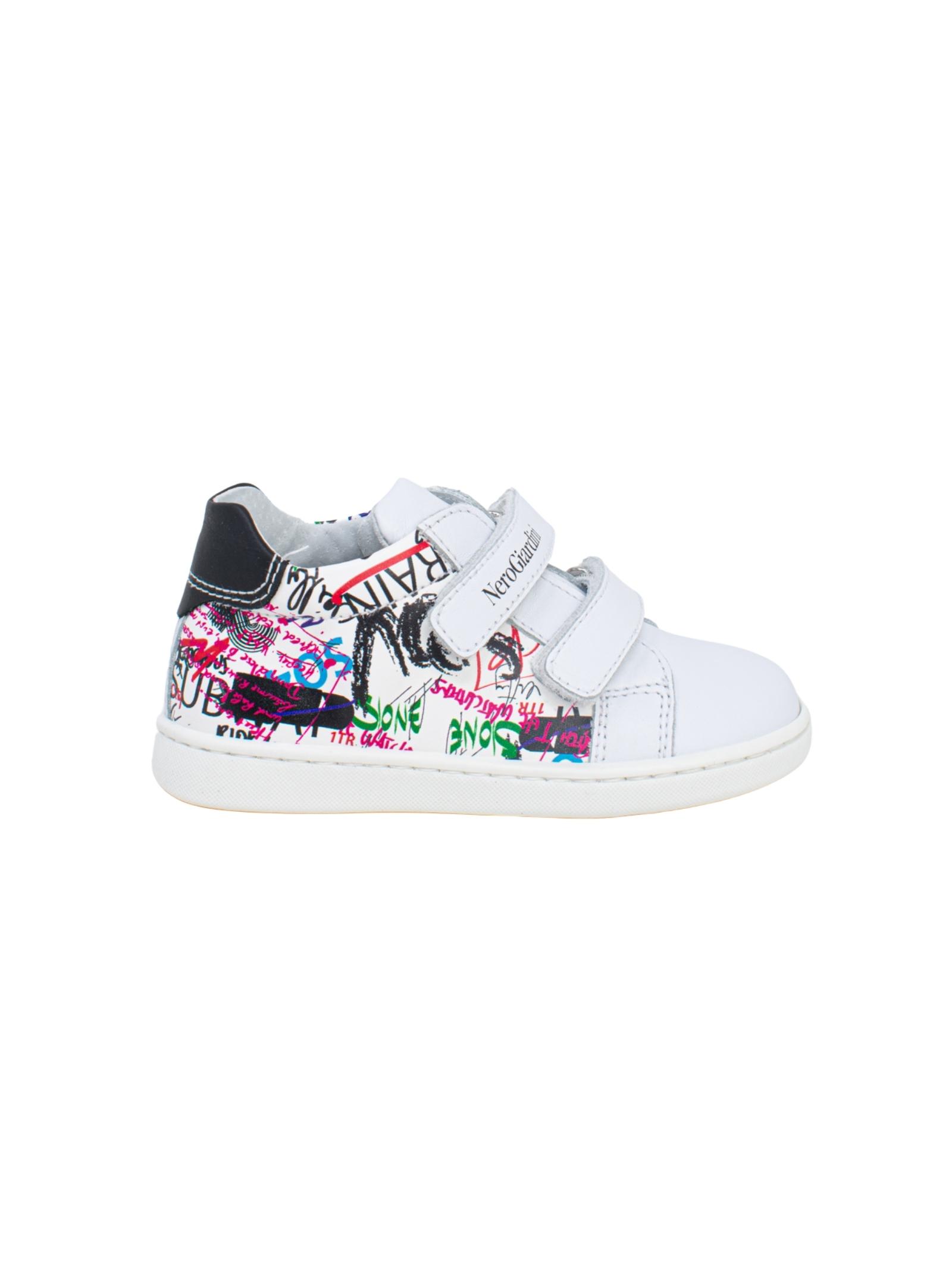 Sneakers Bambino Graffiti NERO GIARDINI JUNIOR | Sneakers | E119161M707
