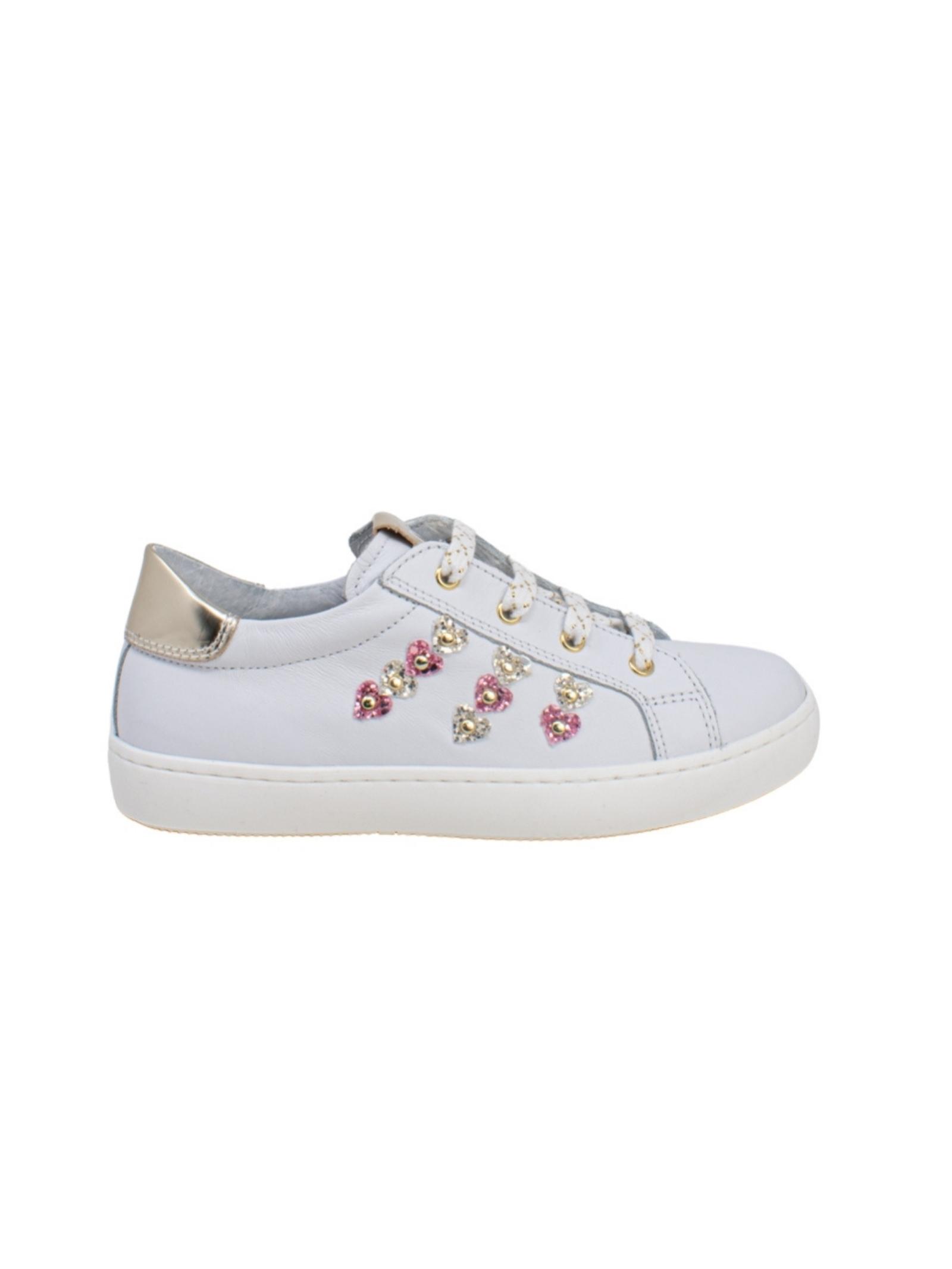 Sneakers Bambina Heart Girl NERO GIARDINI JUNIOR | Sneakers | E121642F707