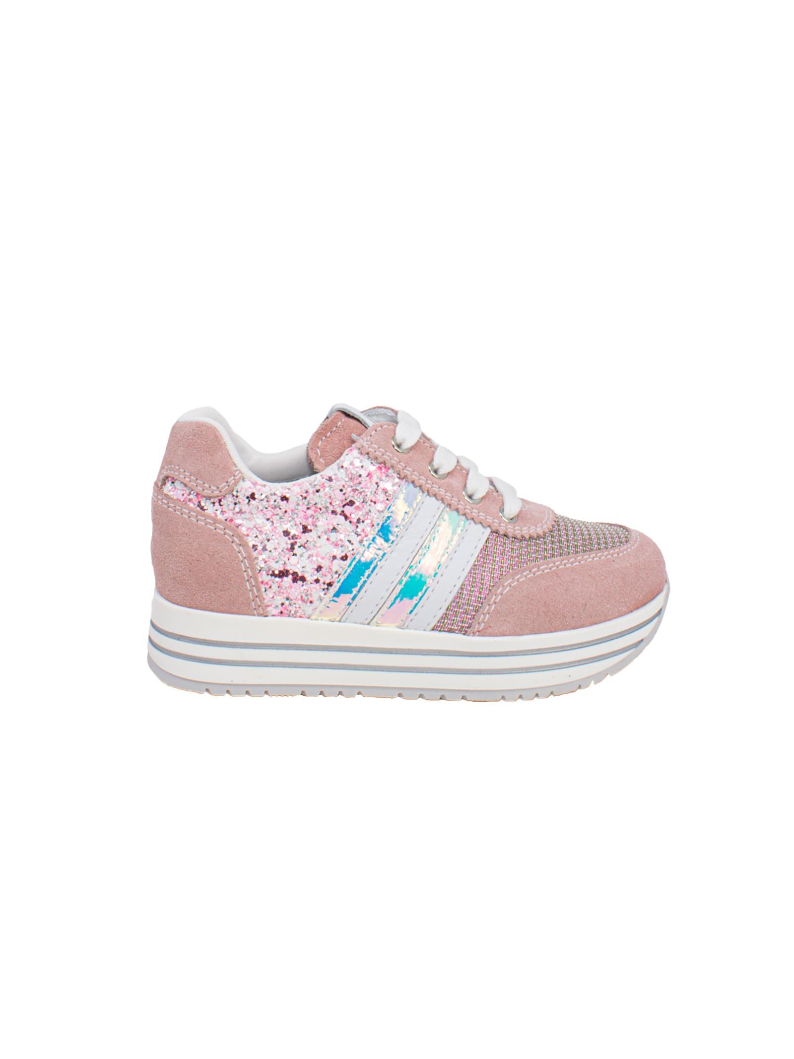 Sneakers Bambina Peonia NERO GIARDINI JUNIOR | Sneakers | E121672F429