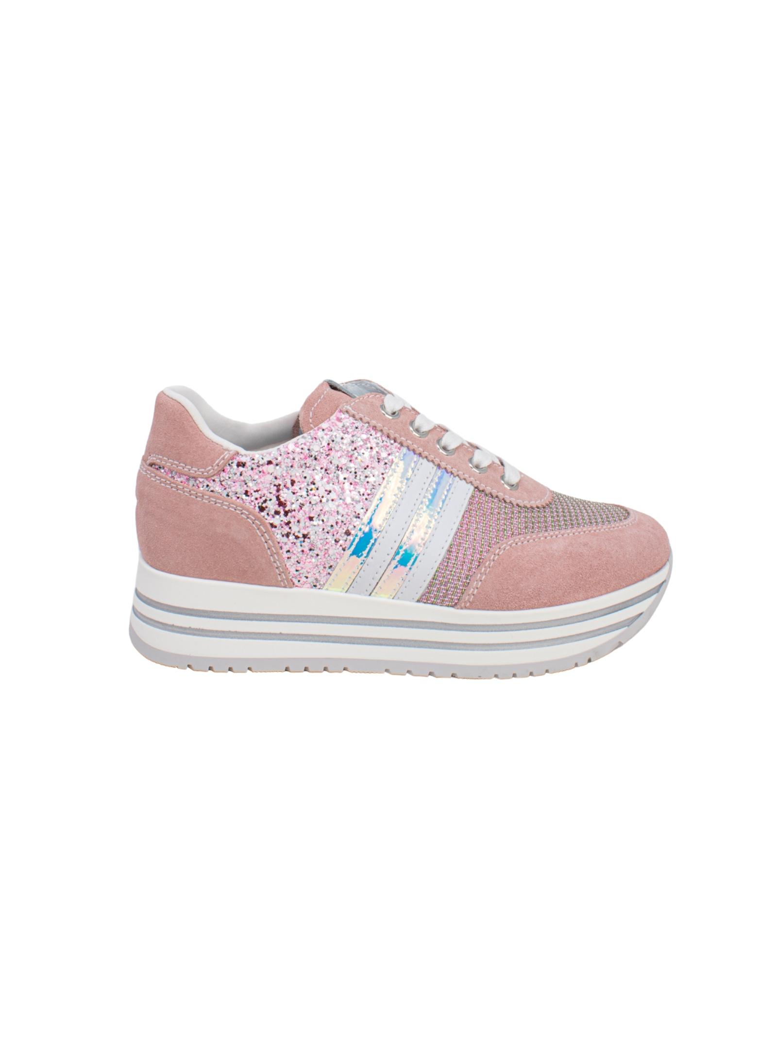 Sneakers Bambina Peonia Teen NERO GIARDINI JUNIOR | Sneakers | E131830F429