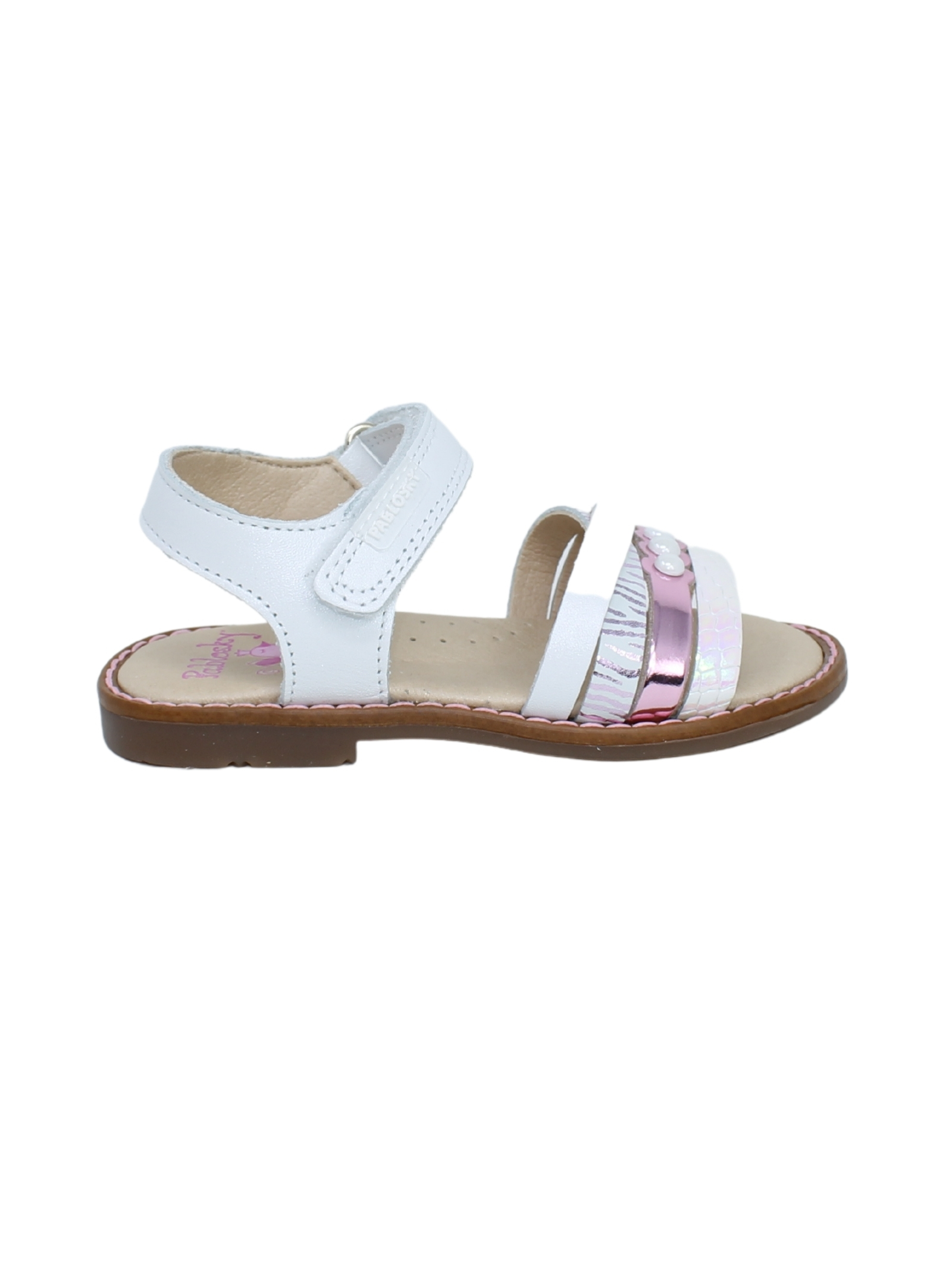 Sandalo Bambina Perline PABLOSKY | Sandali | 095307BIANCO