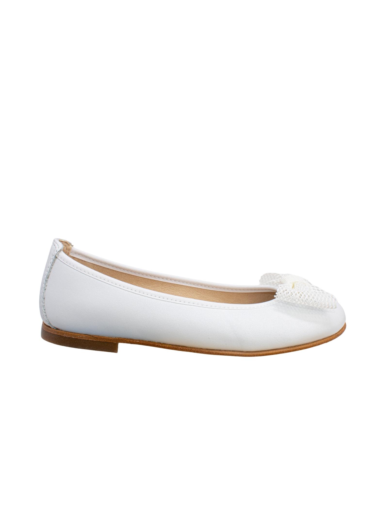 Ballerina White Fiocco Traforato PABLOSKY | Ballerine | 344108BIANCO