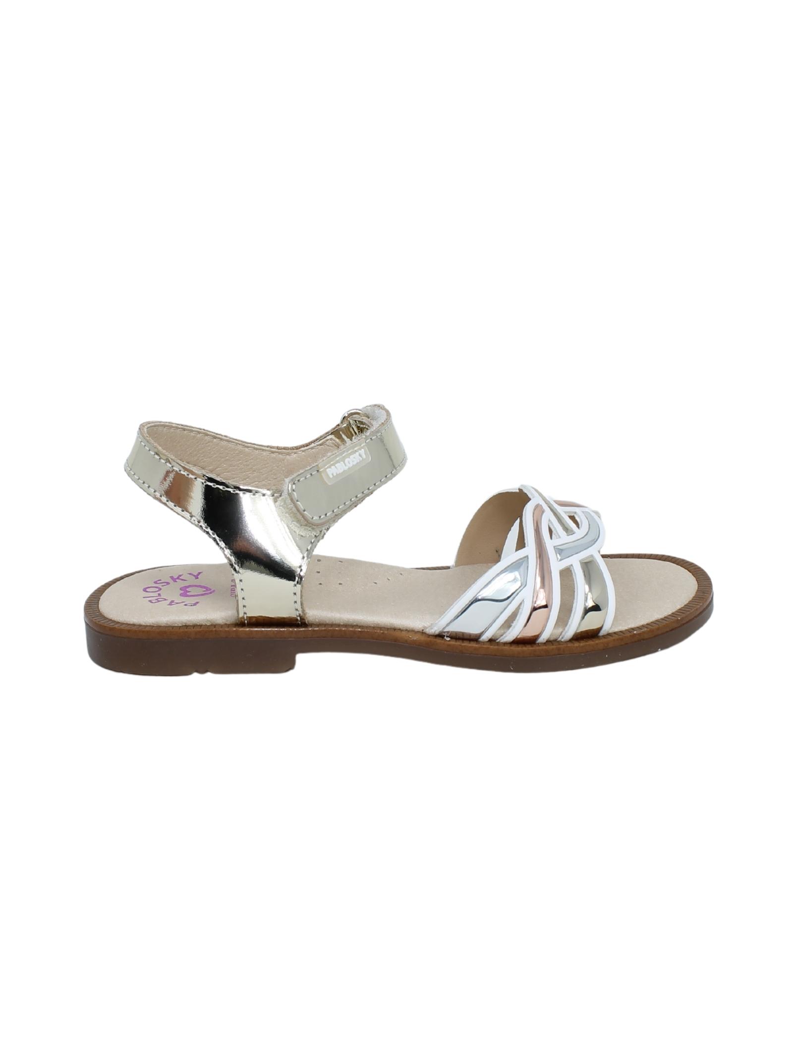 Sandalo Bambina Mirror Champagne PABLOSKY | Sandali | 496581ORO
